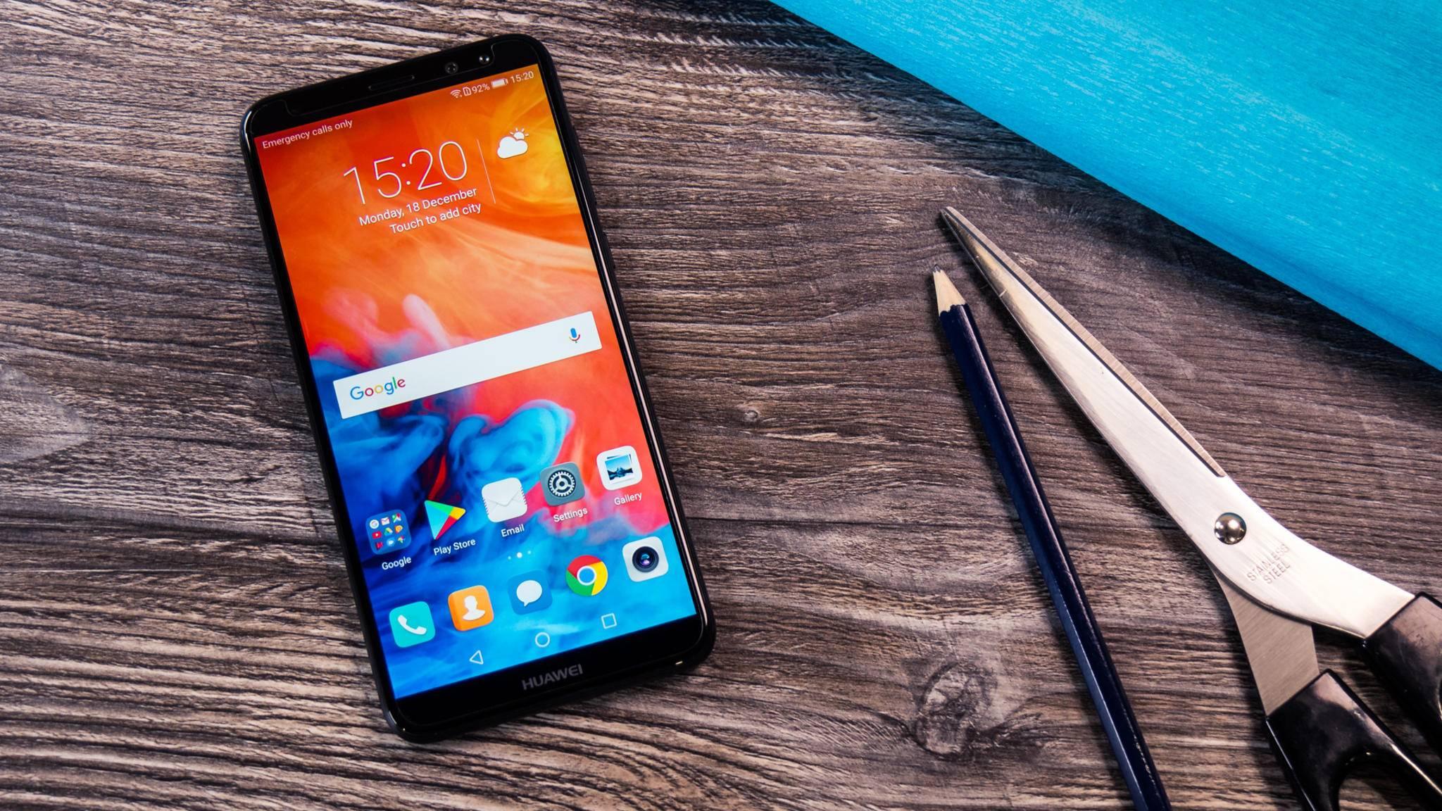 Huawei entwickelt angeblich ein Smartphones mit 512 GB Speicherkapazität.