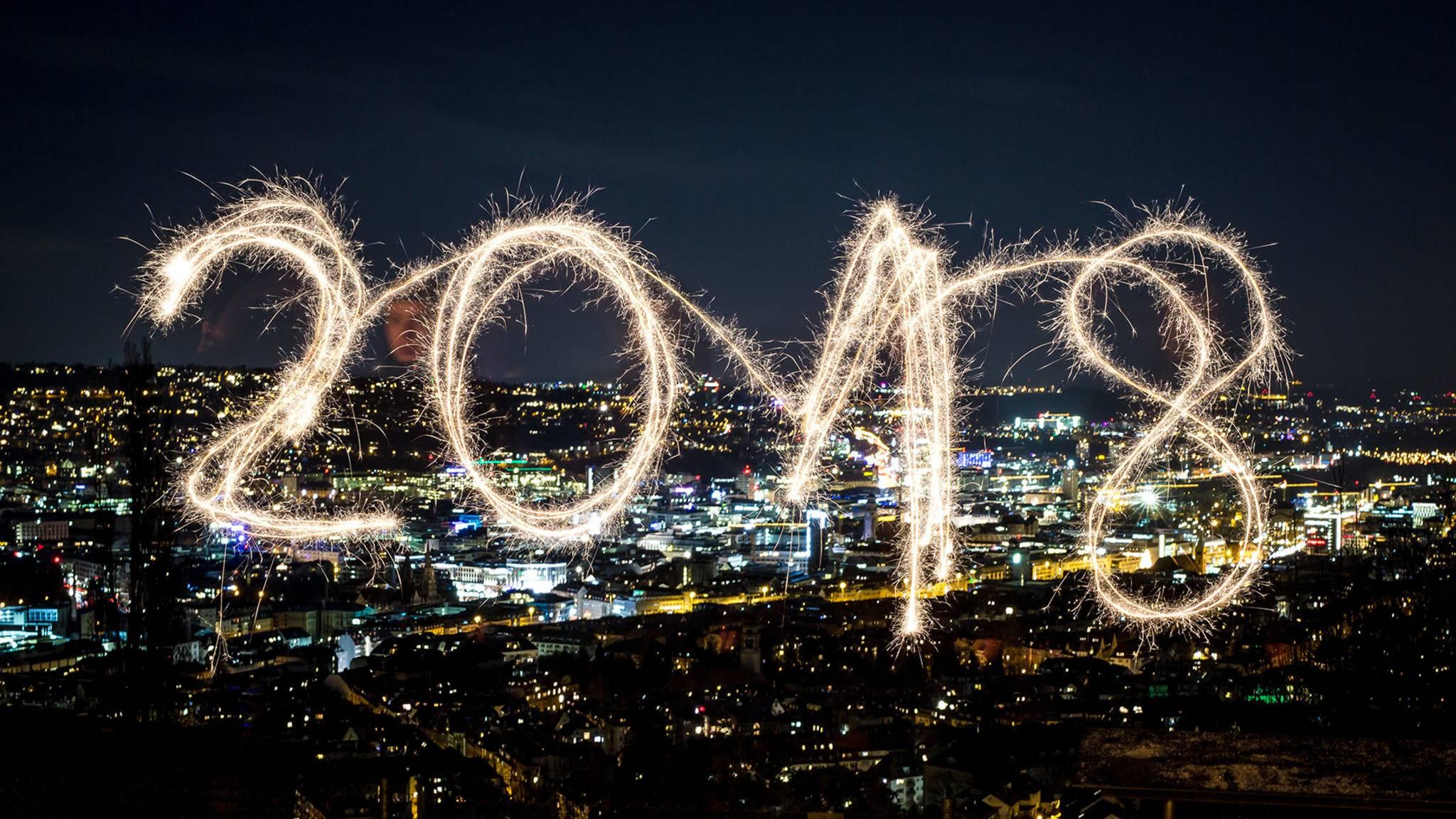 In wenigen Stunden können wir das Jahr 2018 begrüßen – wir wünschen einen guten Rutsch!