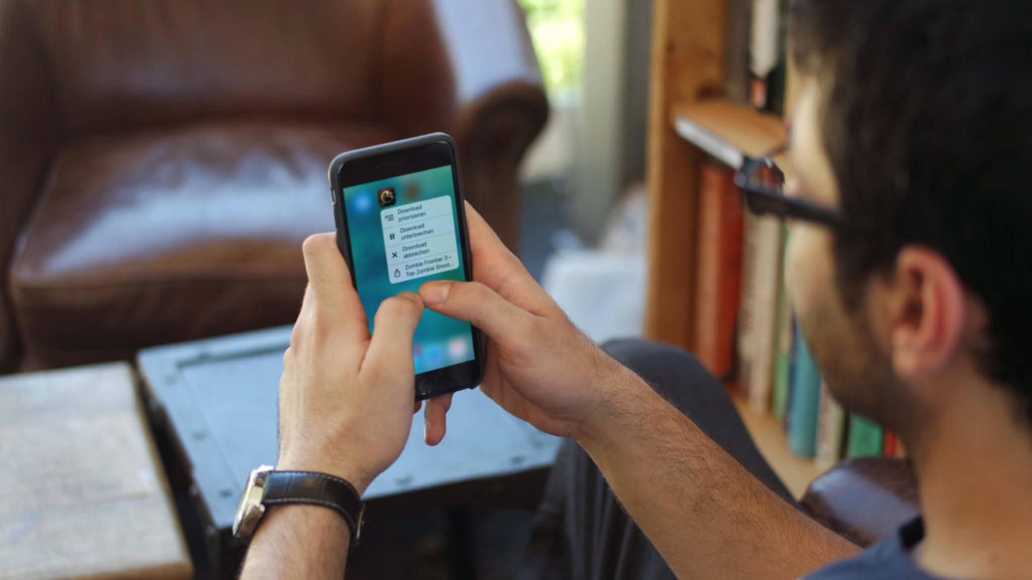 3D Touch wurde von Apple mit dem iPhone 6s eingeführt.