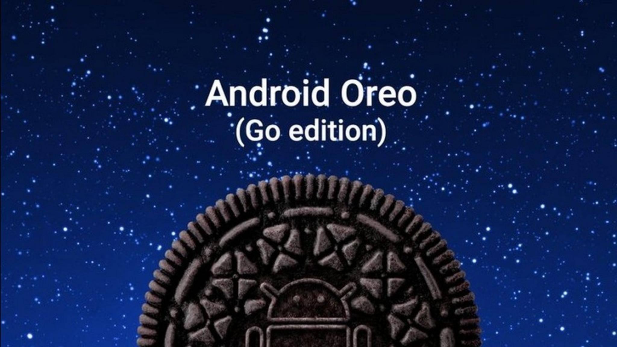 Die Go-Edition von Android Oreo ist für Einsteiger-Smartphones optimiert.