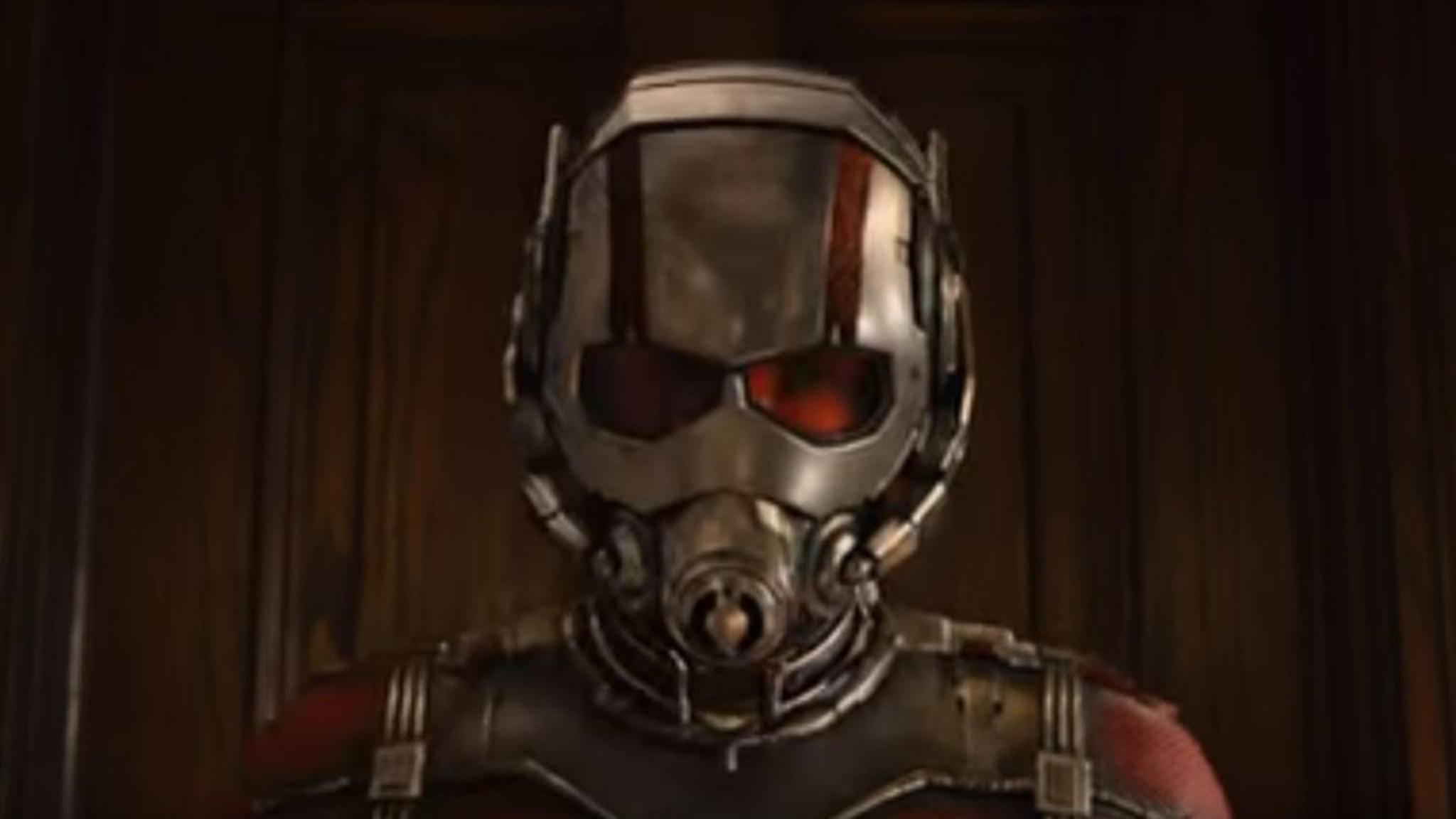 """Auch Ant-Man ließ sich im ersten """"Infinity War""""-Trailer noch nicht blicken."""