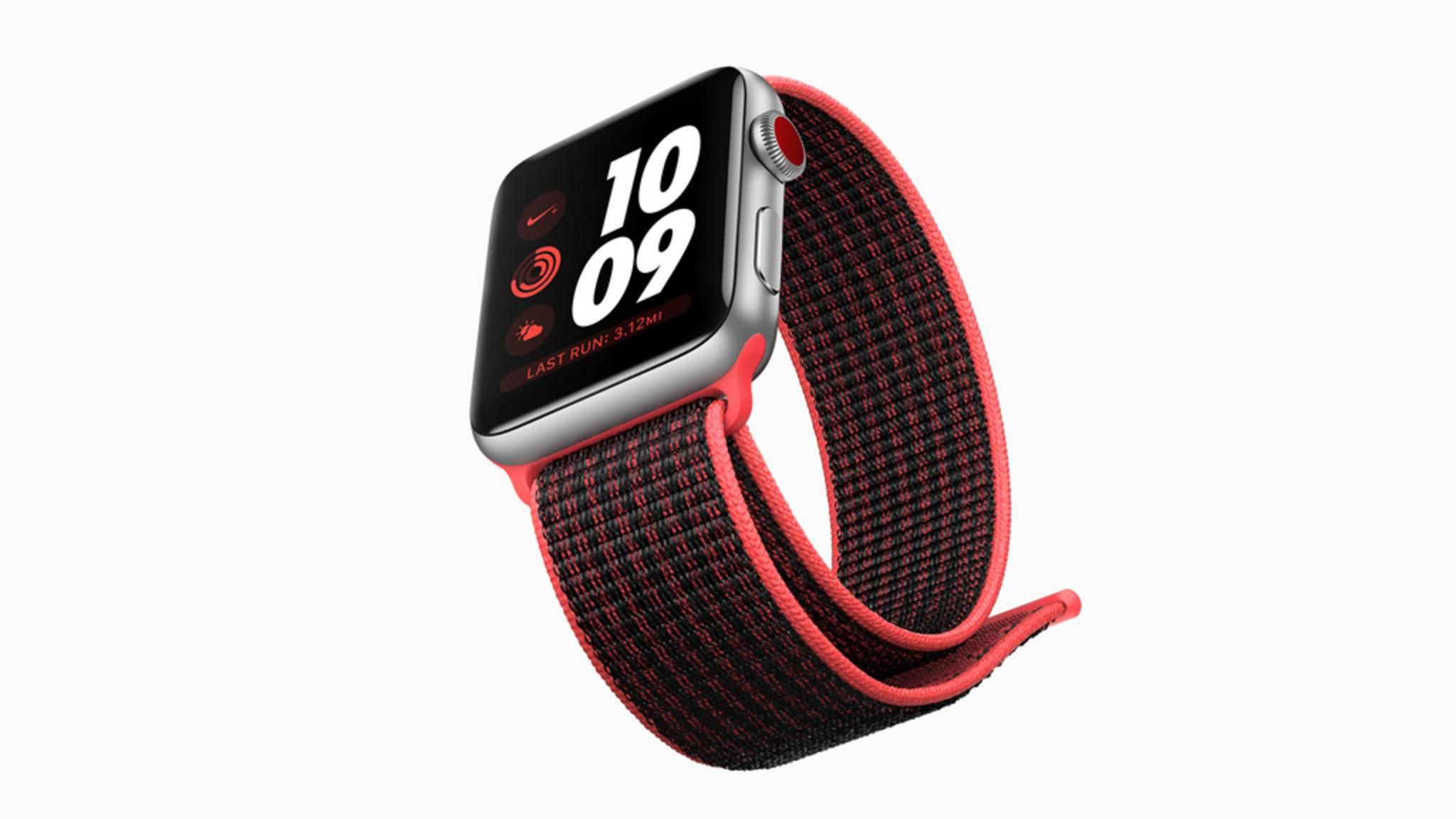 Die Apple Watch ist schon längst kein reines, stylishes Wearable mehr. Der Gesundheitsaspekt wird immer wichtiger.