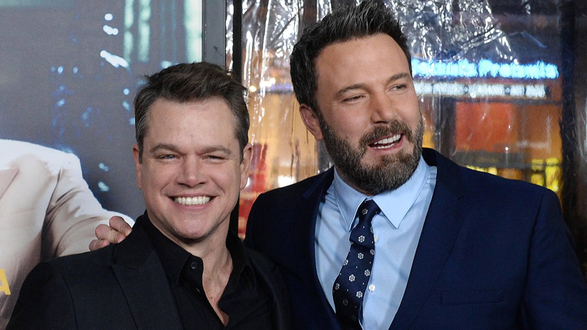 Matt Damon und Ben Affleck wurden schon in der dritten Klasse zu dicken Freunden.