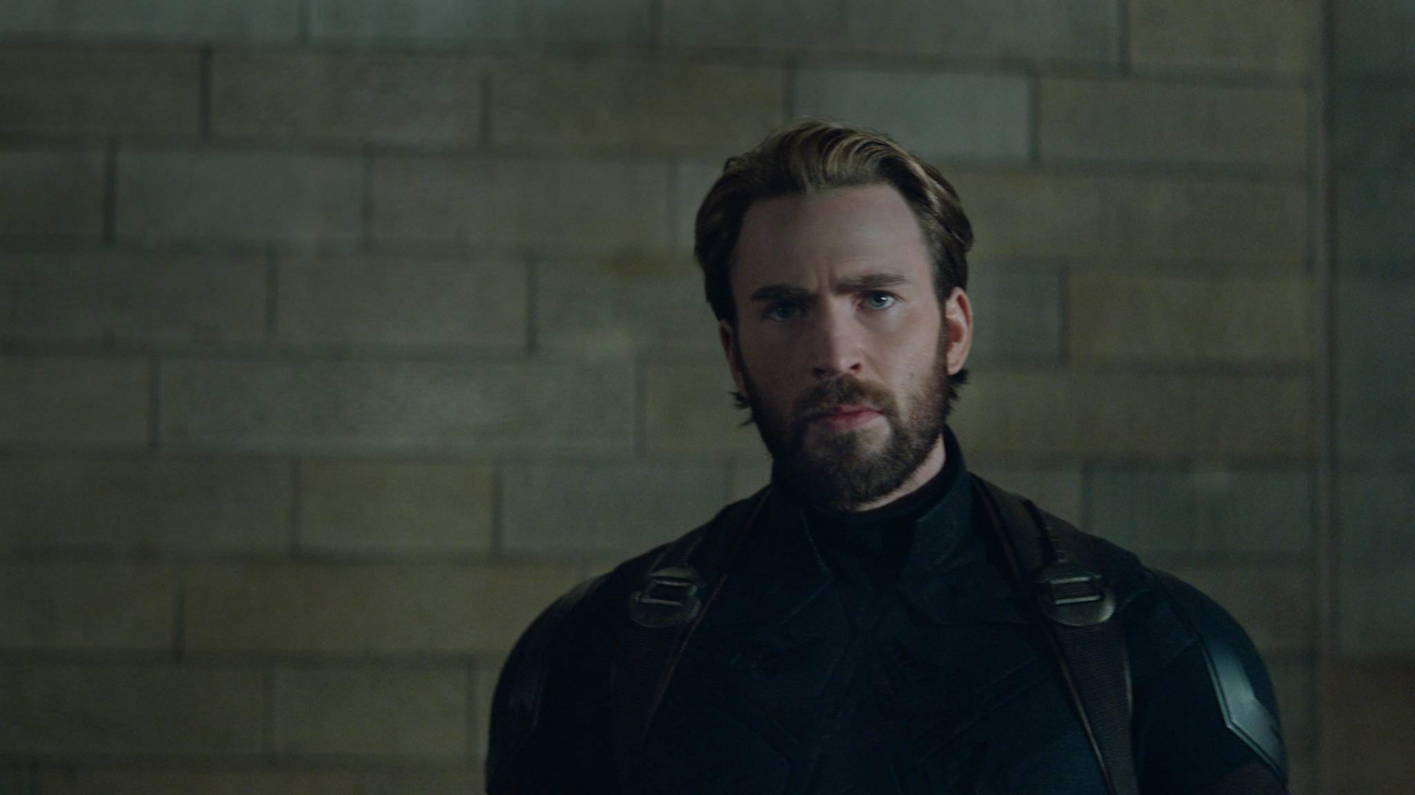 """Nope, diesen Look von Captain America (Chris Evans) werden wir in """"Avengers 4"""" wohl nicht mehr zu sehen bekommen."""