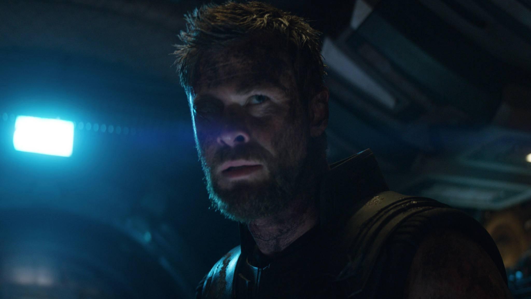 """Ob bei Chris Hemsworth zum """"Infinity War"""" der Blitz der Gehaltserhöhung eingeschlagen hat?"""