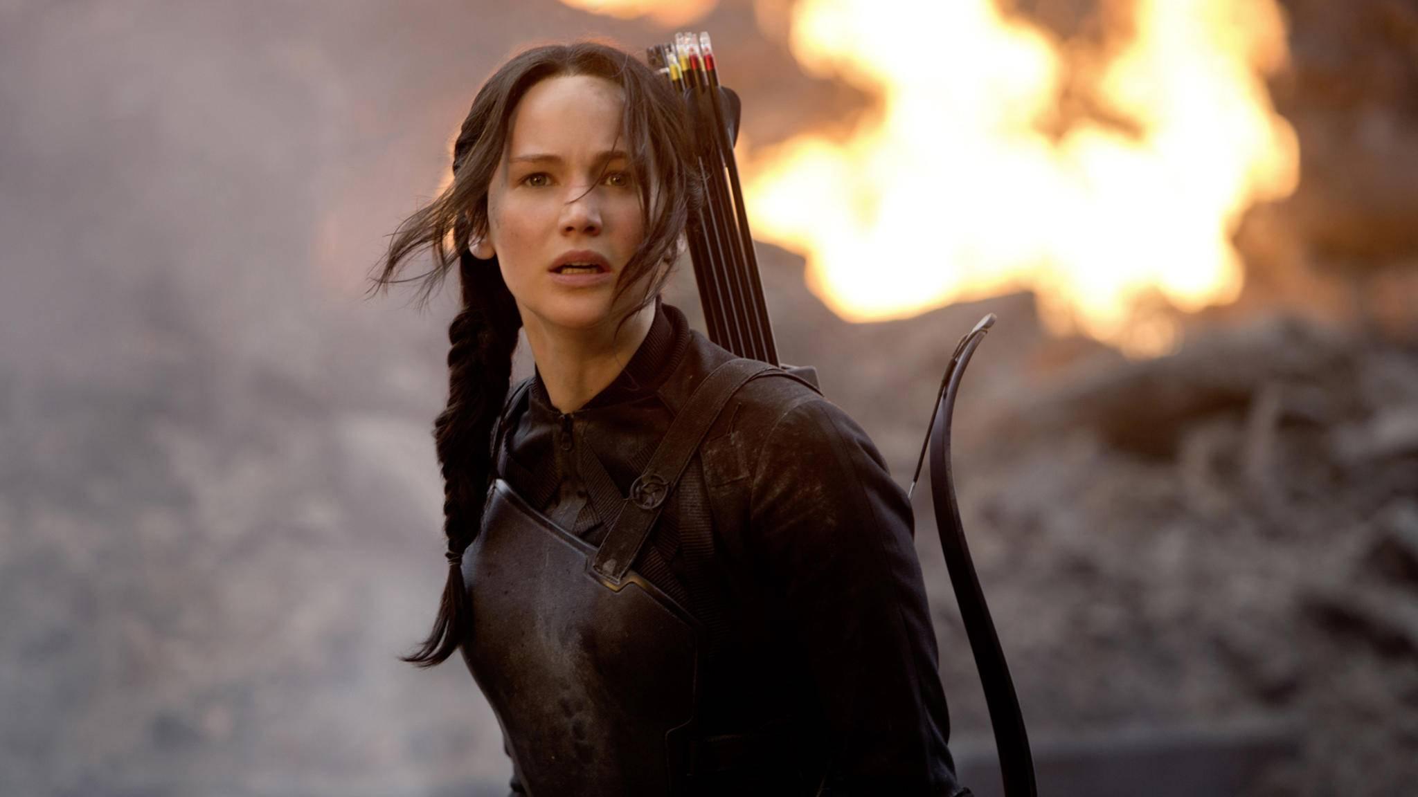 "Jennifer Lawrence erlangte durch die ""Tribute von Panem""-Filme Starruhm."