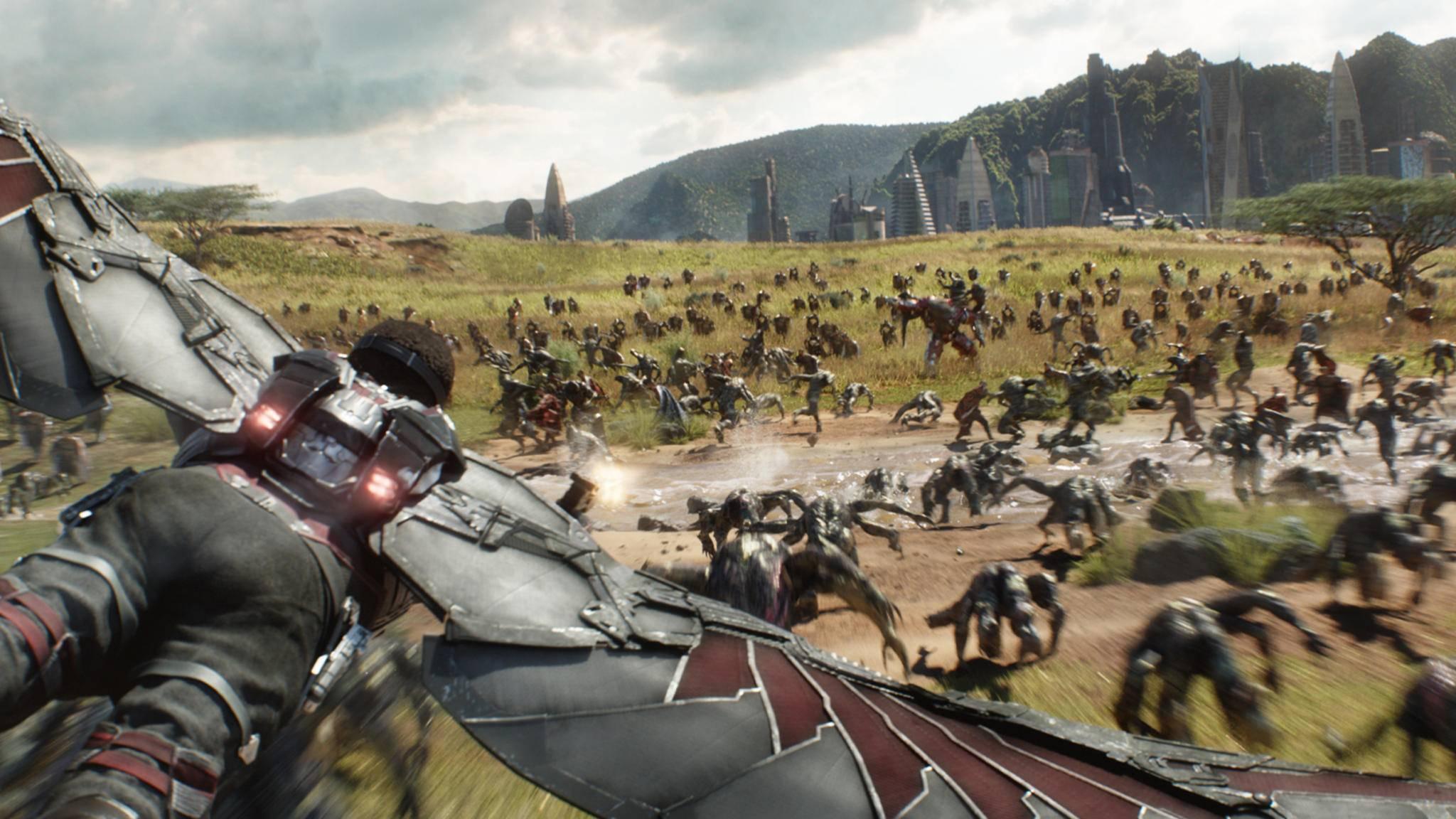 """In """"Avengers: Infinity War"""" steht den Helden eine gewaltige Schlacht ins Haus – und einer hat dafür bereits aufgerüstet."""