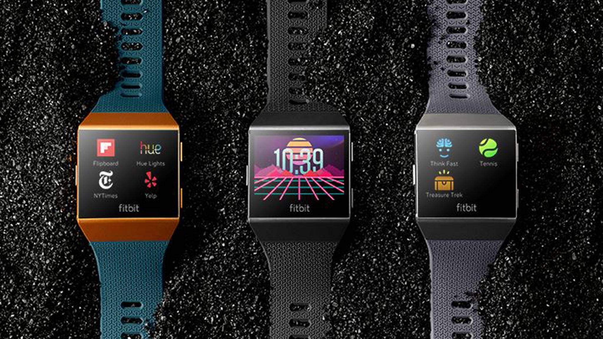 Dank des neuen Fitbit-App-Stores Fitbit Gallery, können Nutzer mit ihrer Fitbit Ionic künftig auf zahlreiche Apps zugreifen.