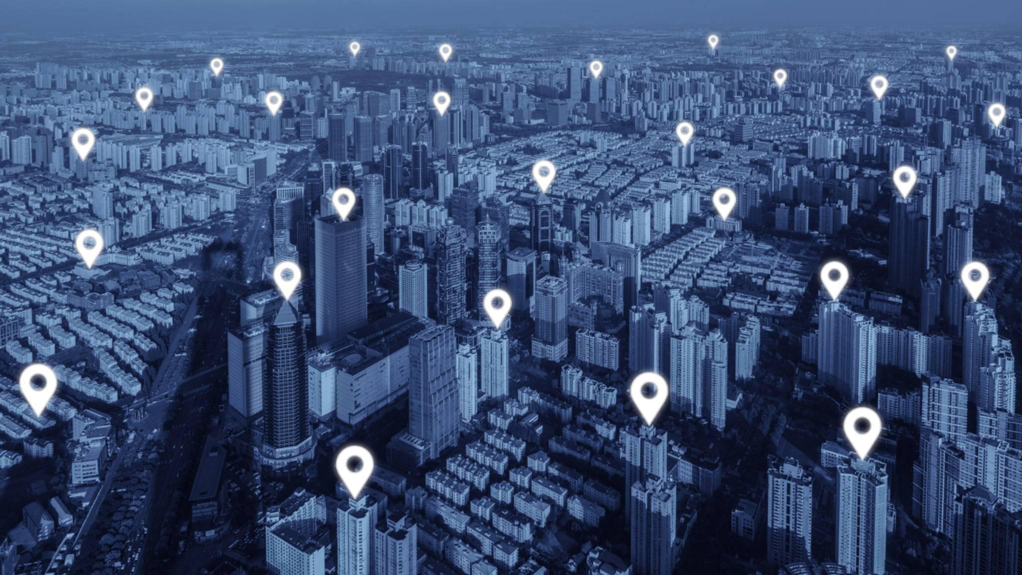 Auch ohne GPS können Smartphone-Nutzer leicht getrackt werden.