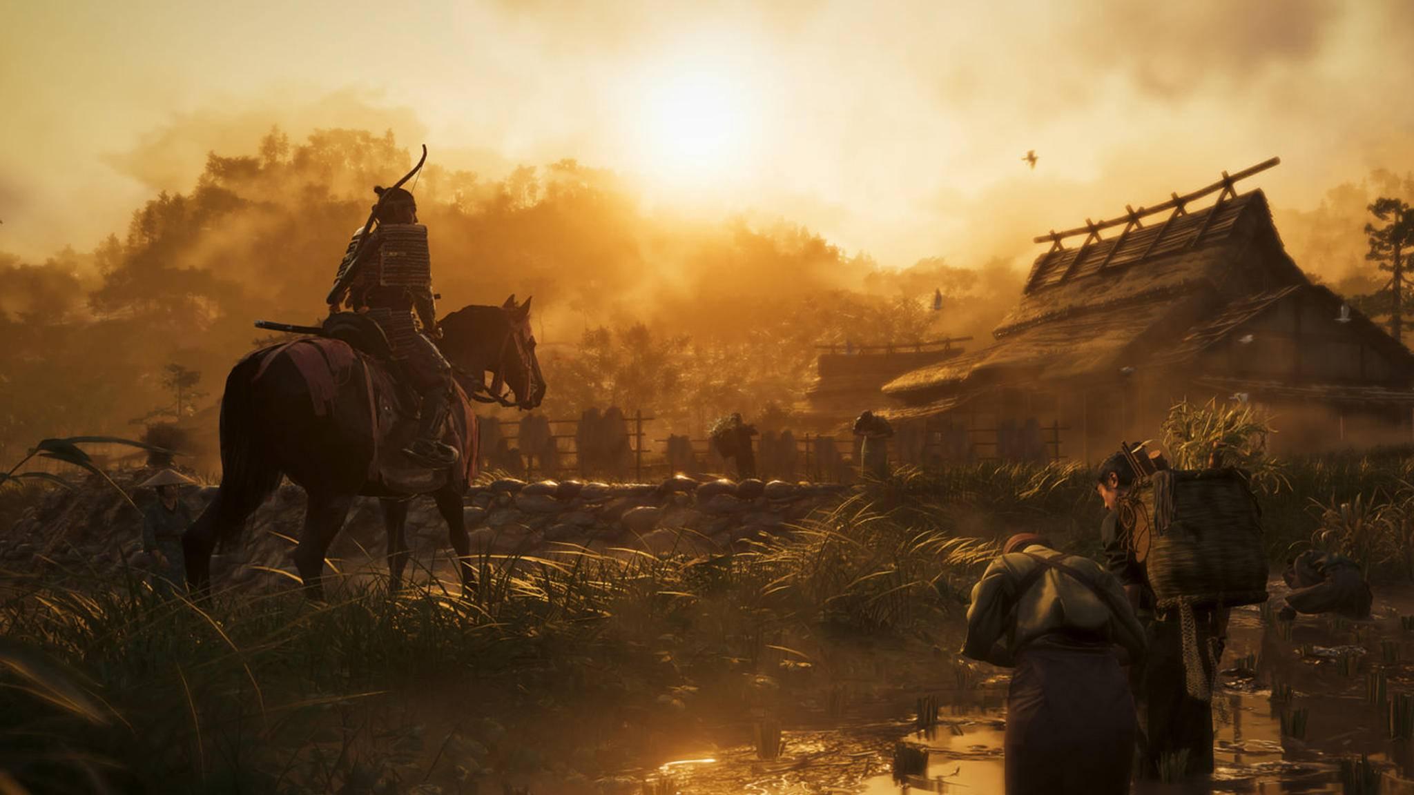 """In """"Ghost of Tsushima"""" kämpfst Du als Samurai gegen die Mongolen."""