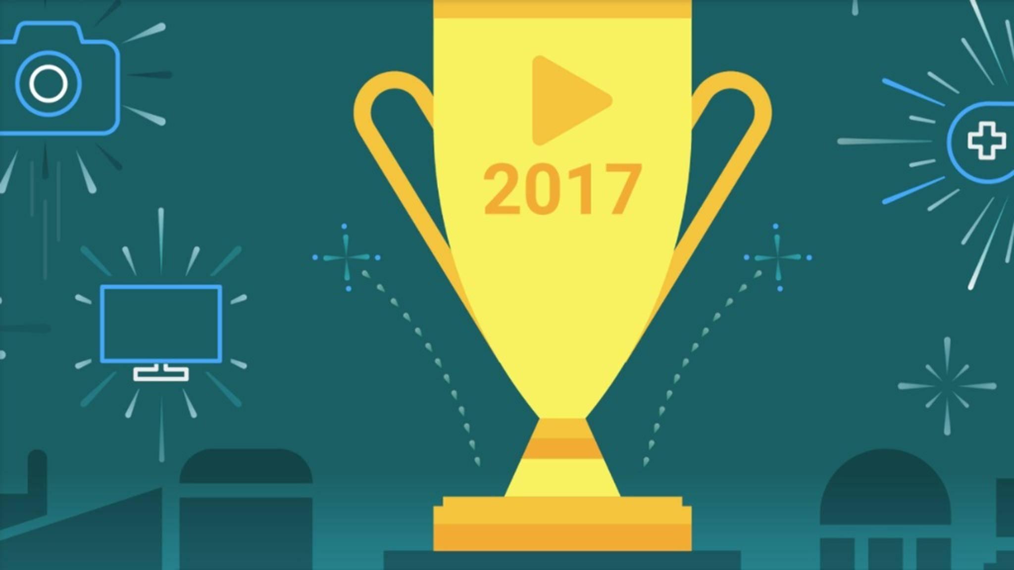 Auch 2017 erschienen wieder tolle Apps & Games im Play Store.