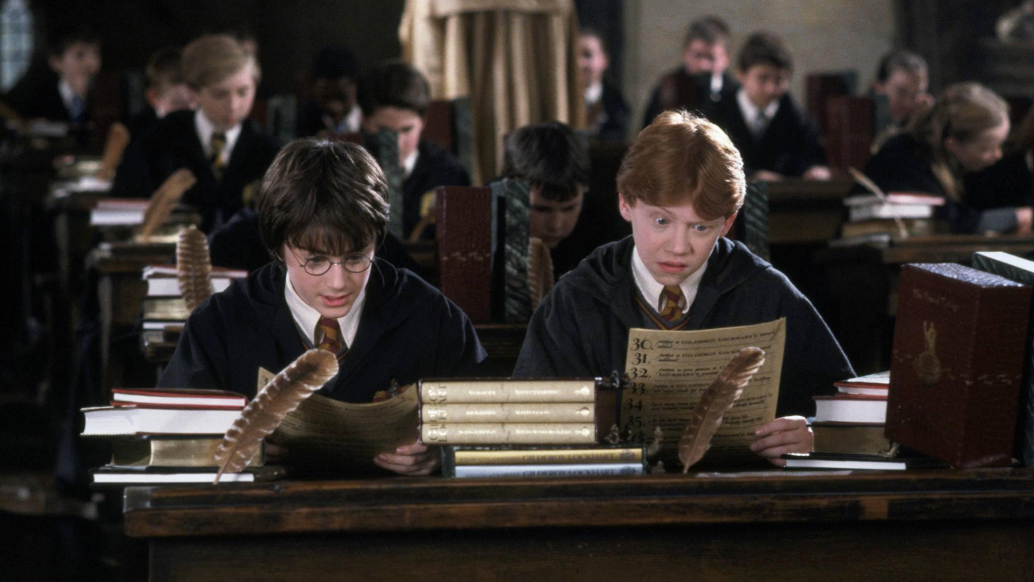 Da staunt Ron nicht schlecht: Im neuen Kapitel frisst er Hermines Familie.