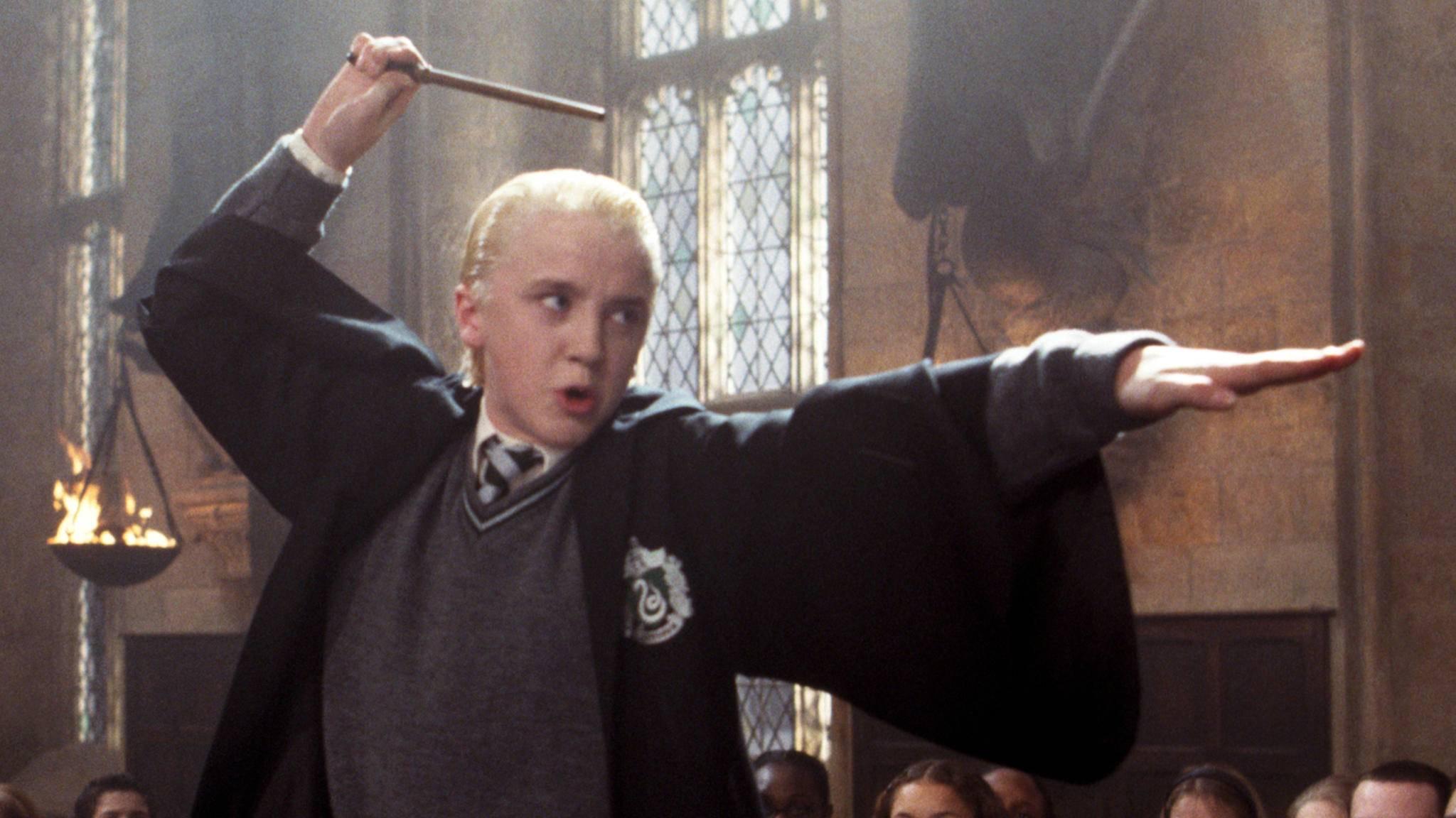 Dass Draco nichts Gutes im Schilde führt, macht sein Name mehr als deutlich.