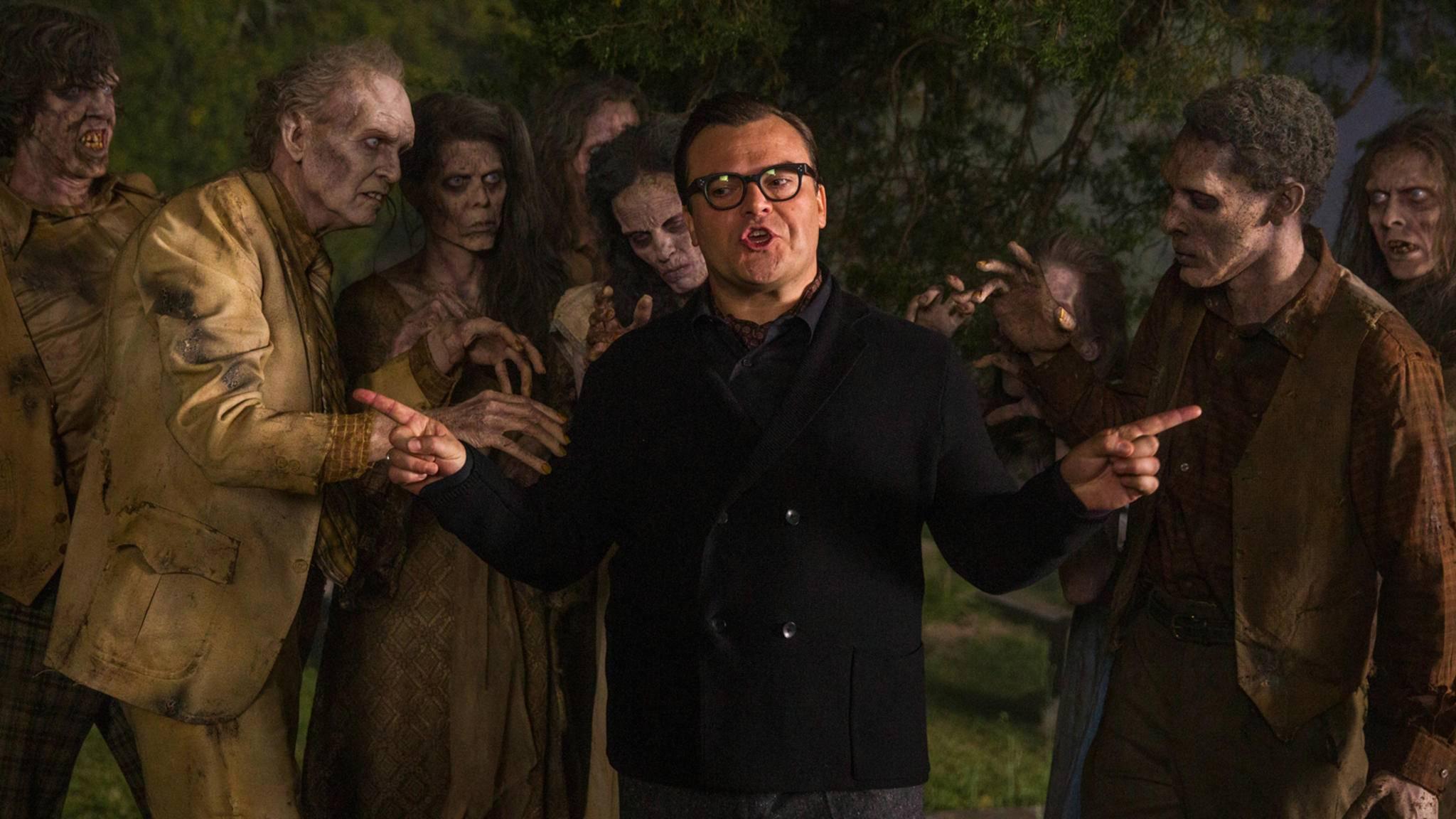 """Jagt Jack Black auch in """"Gänsehaut 2"""" als Stine wieder seinen Schöpfungen hinterher?"""