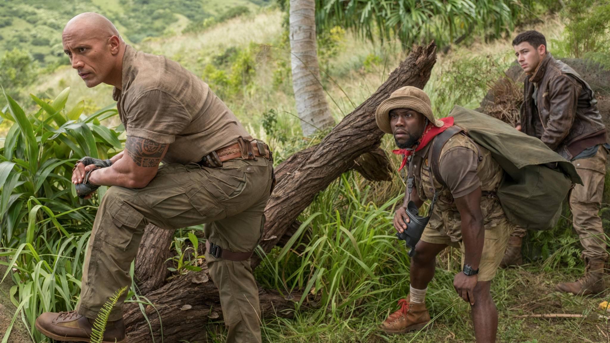 """""""Jumanji: Willkommen im Dschungel"""" ist einer der besten Filme mit Kevin Hart!"""