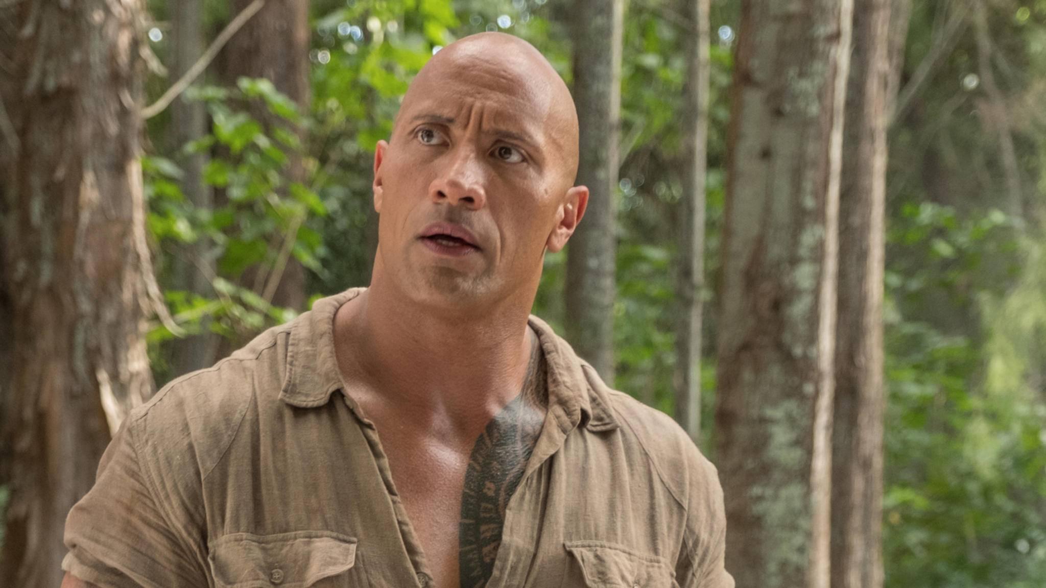 "Alles, was er anfasst, wird zu Gold: Dwayne Johnson in ""Jumanji 2""."