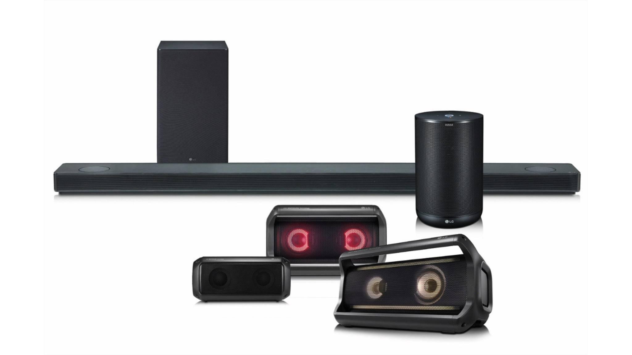 Der LG ThinQ Speaker funktioniert mit dem Google Assistant.