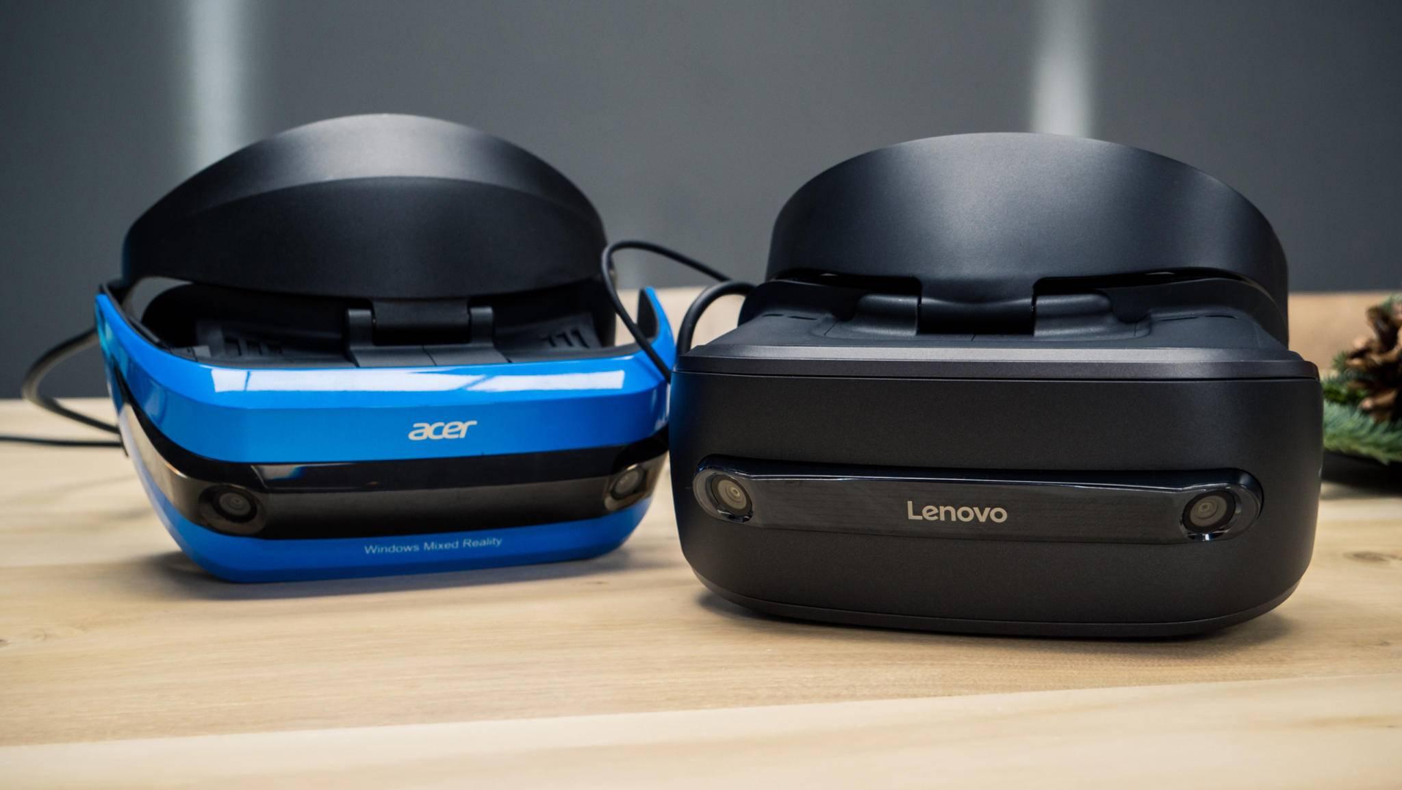 Acer und Lenovo bieten die ersten Mixed-Reality-Brillen an.