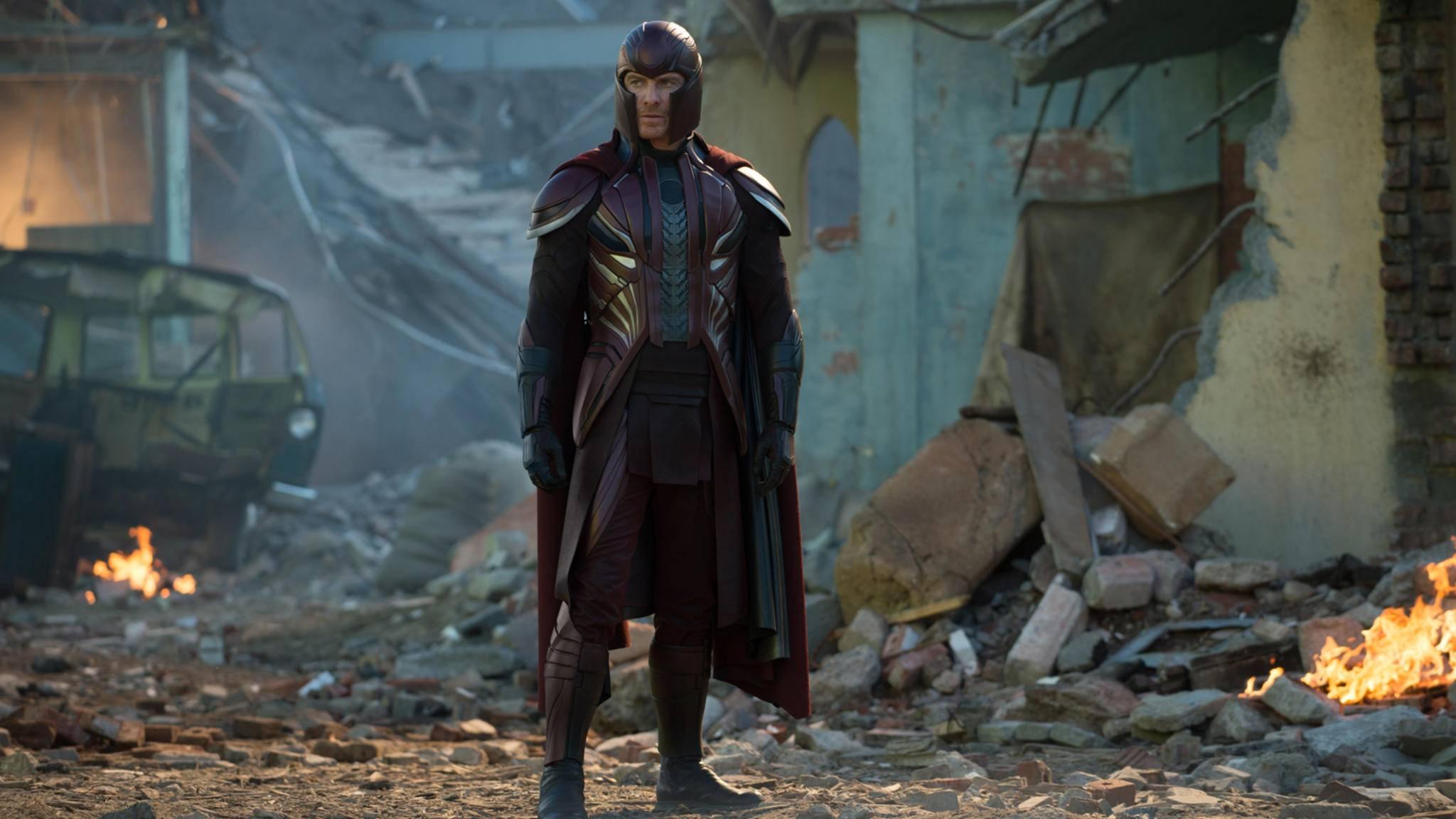 """Offenbar erwarten Magneto auch in """"X-Men: Dark Phoenix"""" keine rosigen Zeiten."""