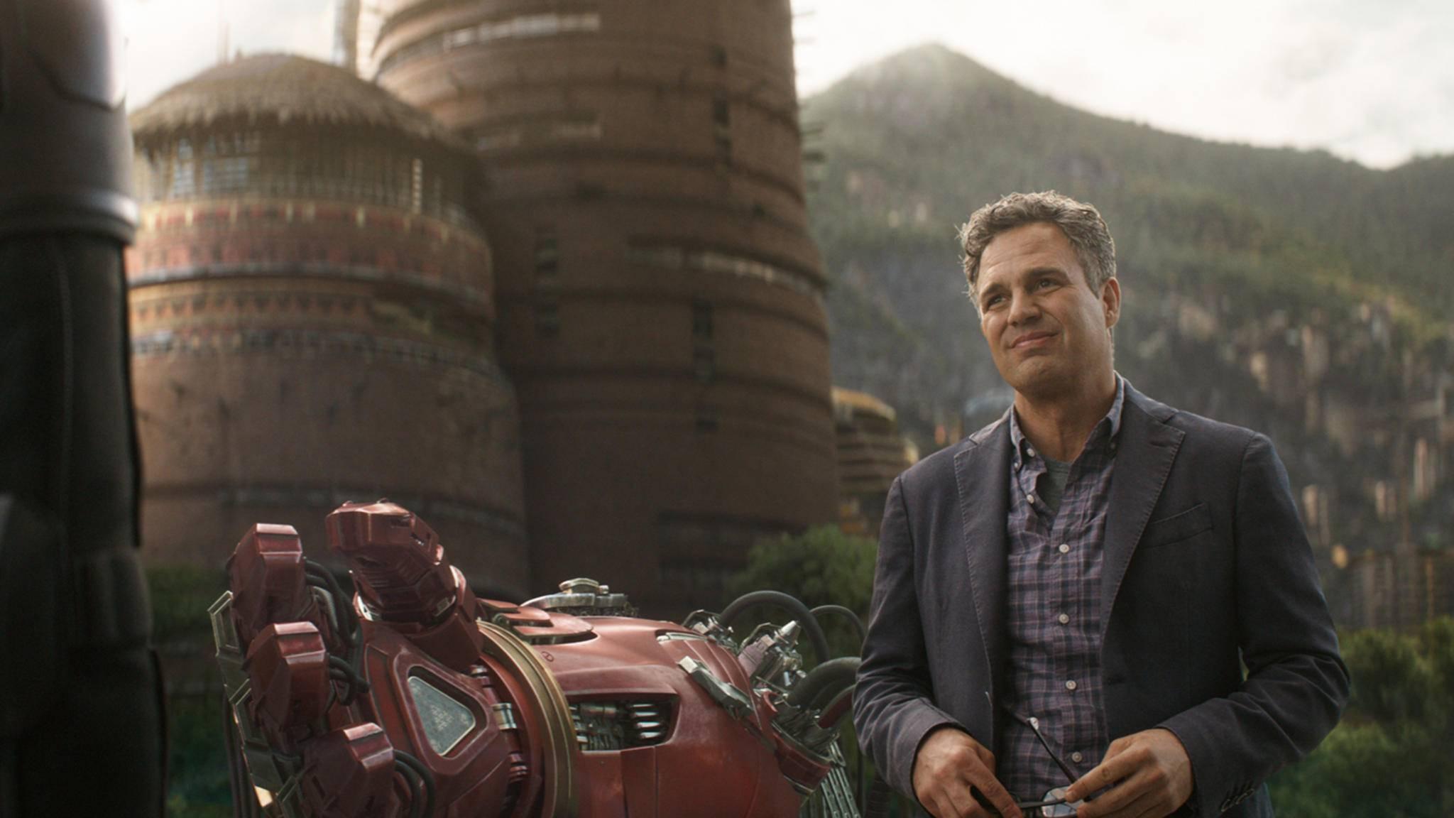 Seine Paraderolle: Mark Ruffalo als Bruce Banner alias der grüne Wüterich Hulk.