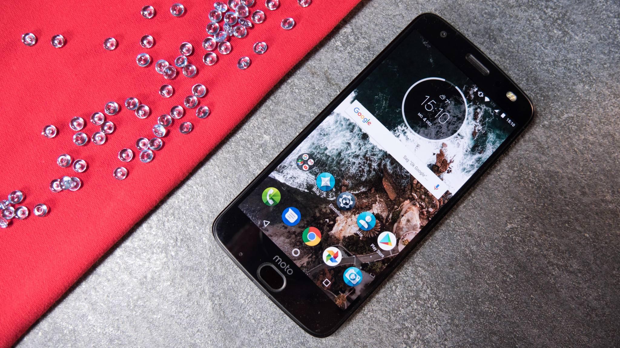 Auch das Moto Z2 Force verspricht pures Android.