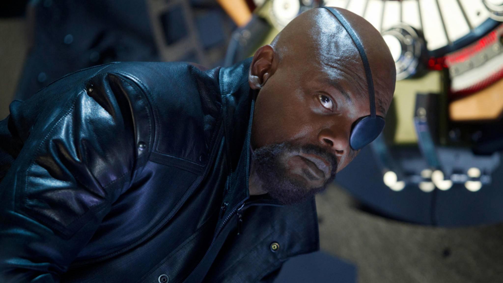 """Nick Fury sehen wir wohl erst in """"Captain Marvel"""" wieder."""
