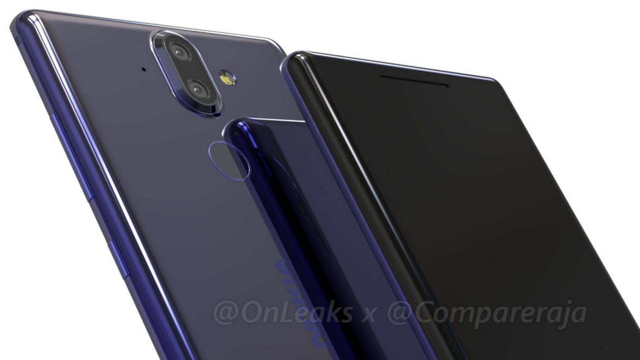 Das Nokia 9 könnte auf dem MWC 2018 gezeigt werden.