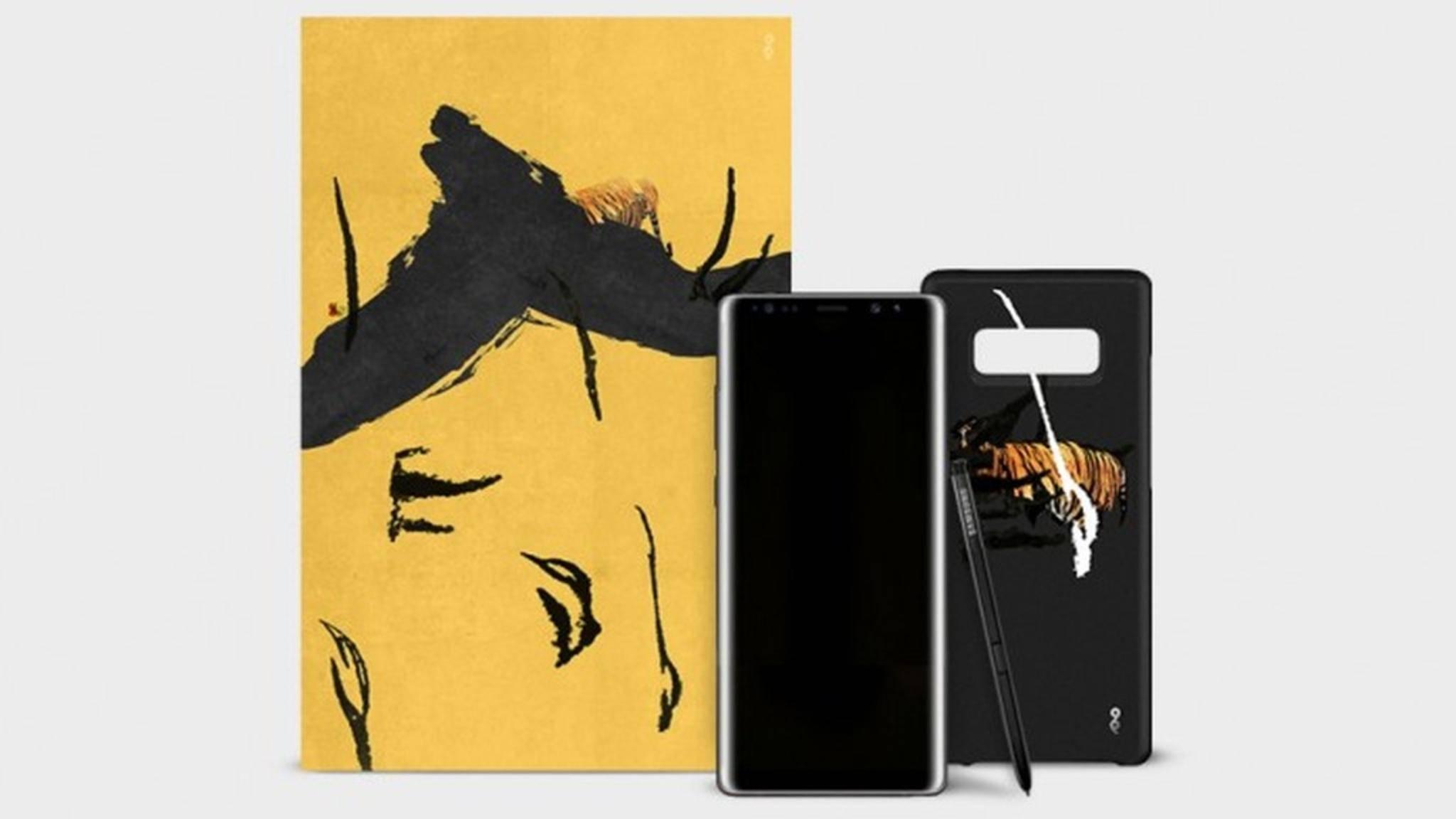 Das Galaxy Note 8 ist als 1550 Euro teure Special Edition erschienen.