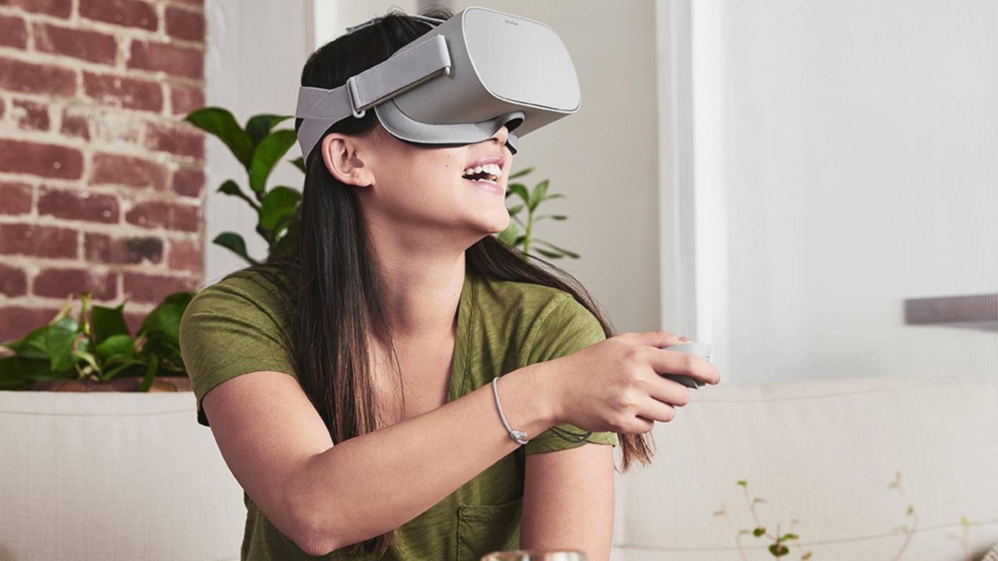 Oculus Go funktioniert ohne Smartphone und PC.