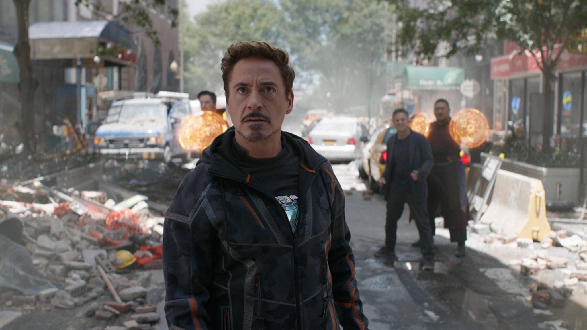 Offenbar steuern die Avengers um Tony Stark auf ihren größten Kampf zu.
