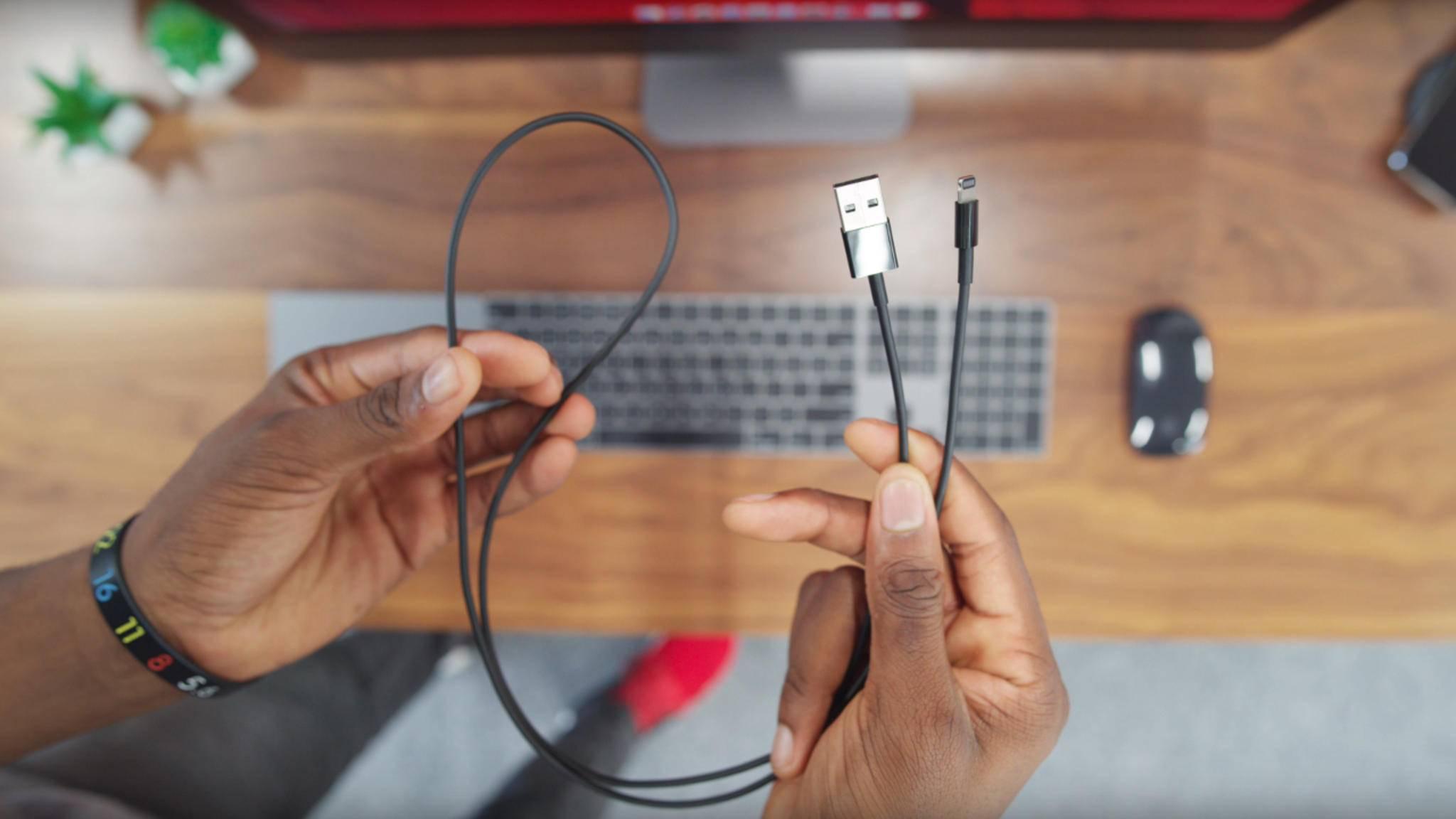 Schick, schick! Endlich gibt es ein schwarzes Lightning-Kabel von Apple.