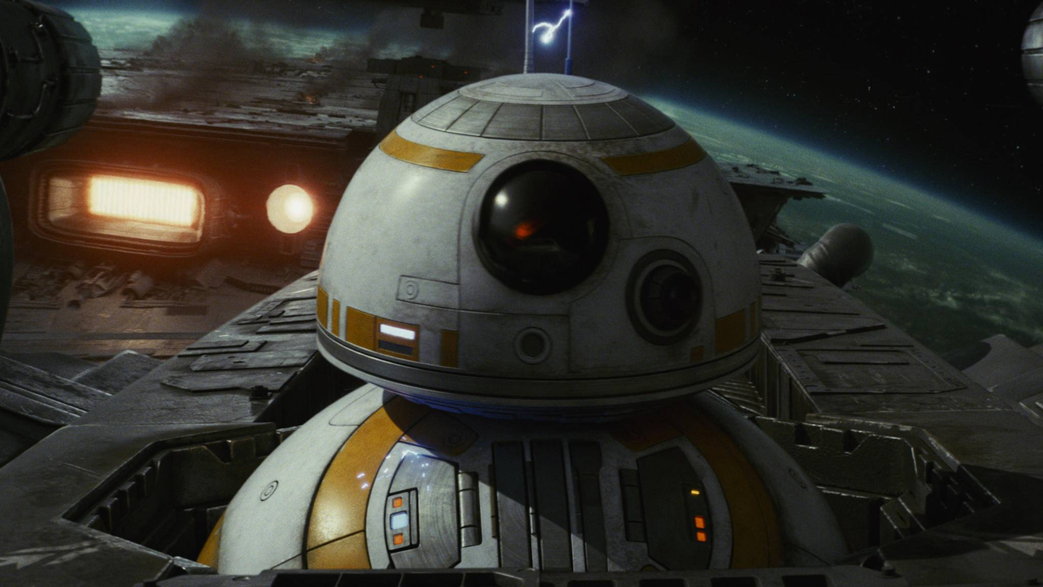 """Star Wars Episode VIII"" fliegt in die Kinos."