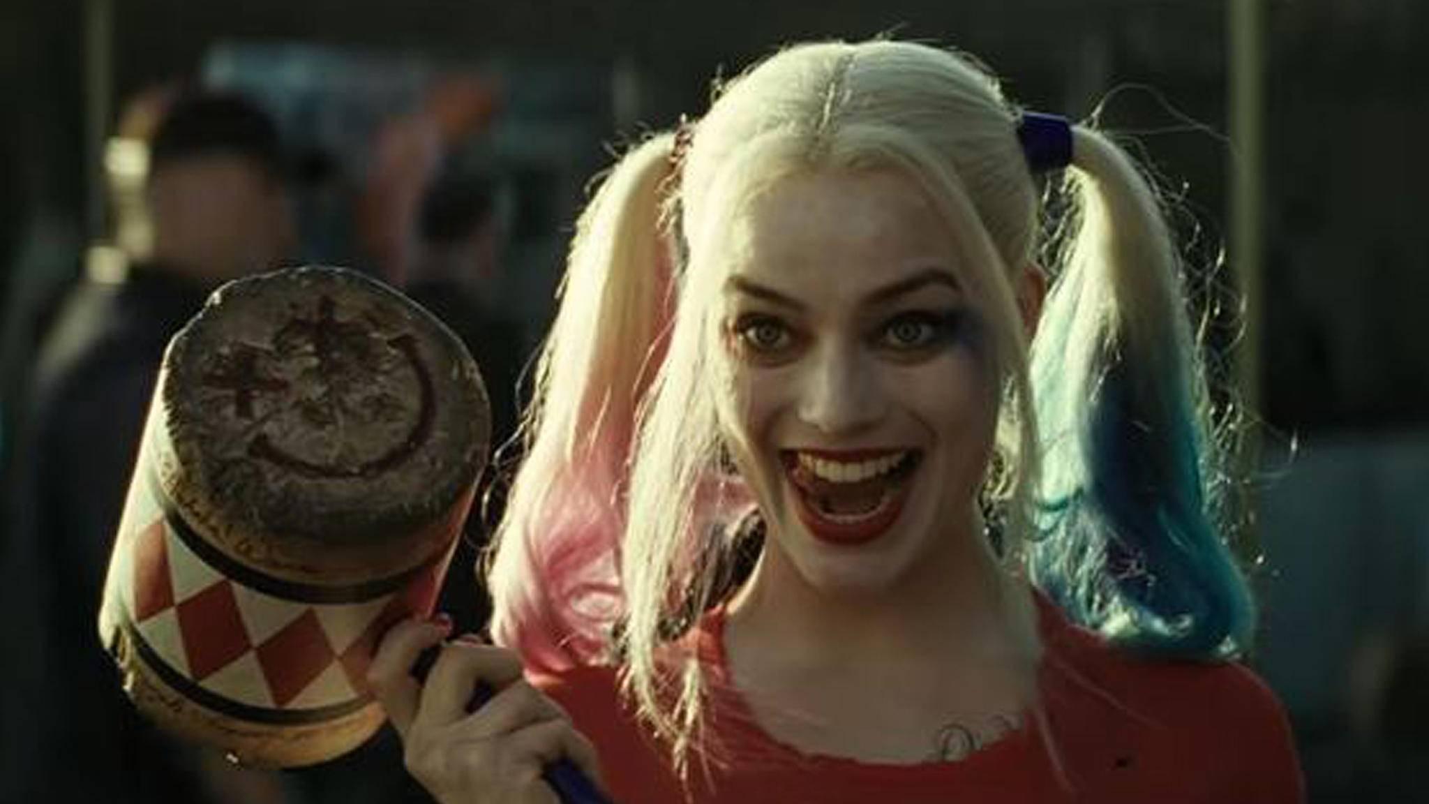 """Harley Quinn darf endlich in einem ganz eigenen Solofilm ihr """"wahnsinniges"""" Potenzial entfalten."""