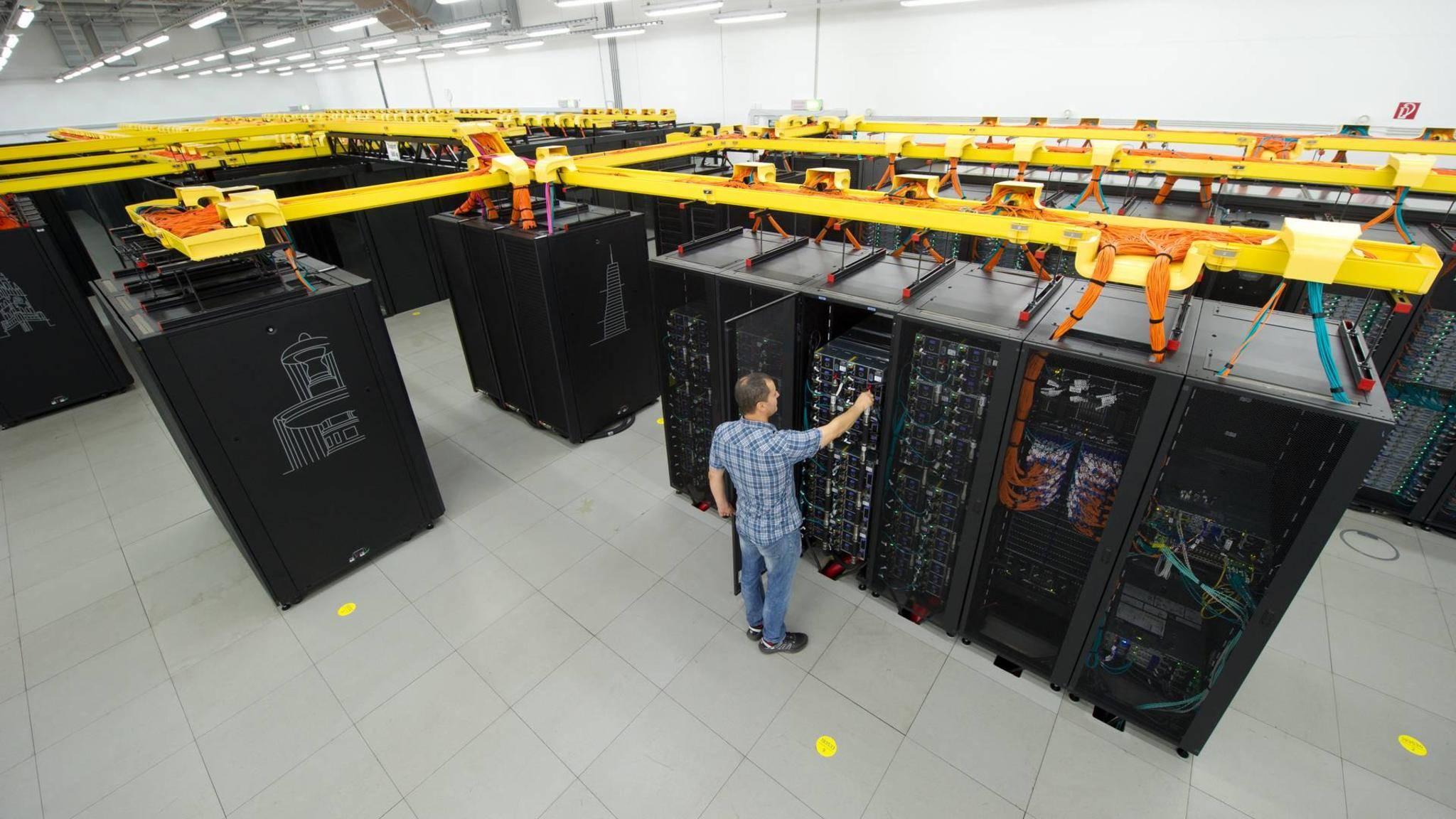 In Garching bei München entsteht der stärkste Computer Deutschlands.
