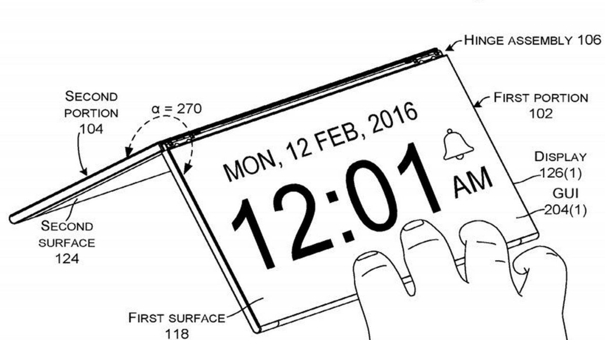 Microsoft arbeitet an einem neuartigen Surface-Gerät.