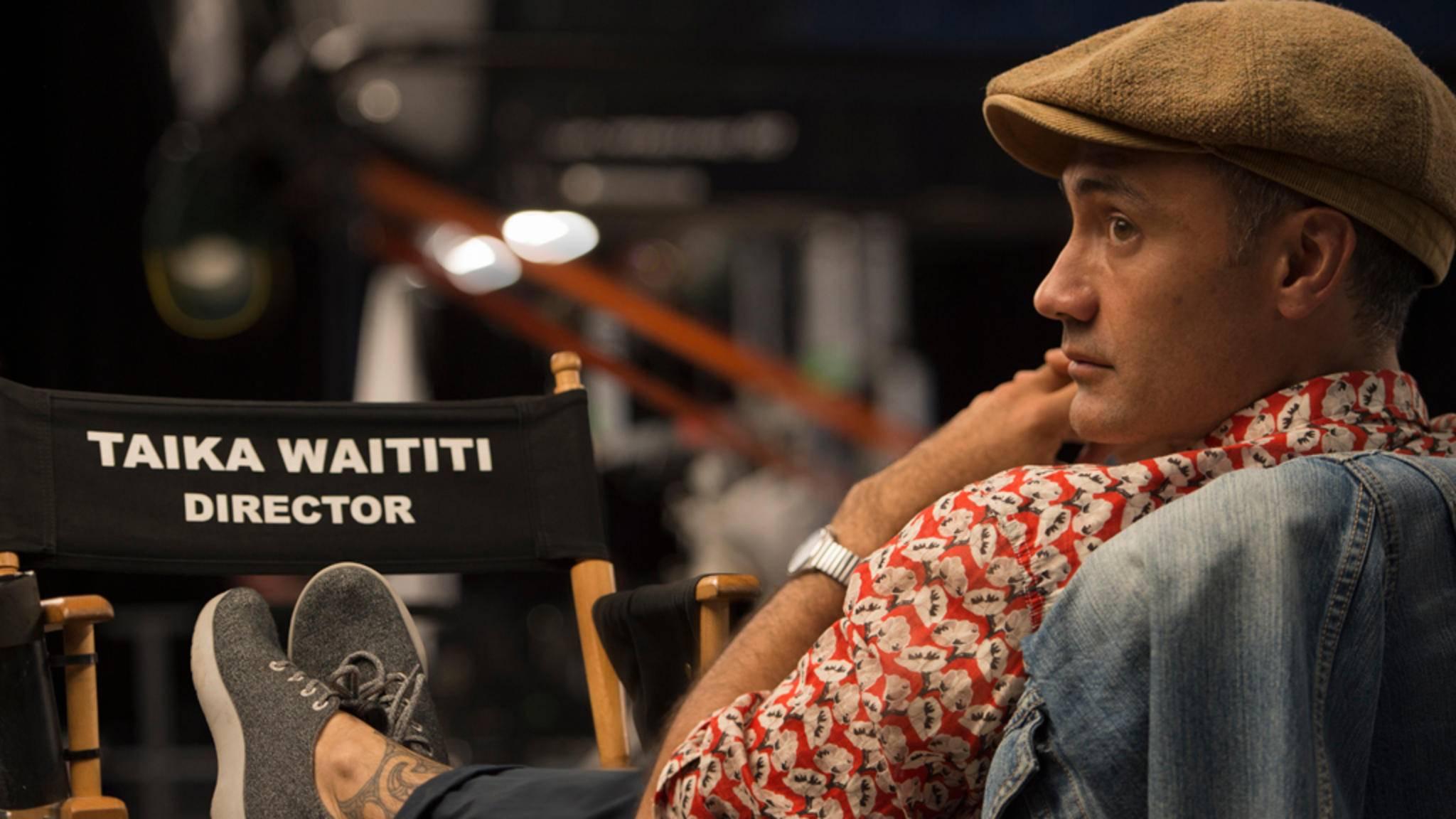 Hollywoods neuer Darling: Regisseur Taika Waititi ist heiß begehrt.