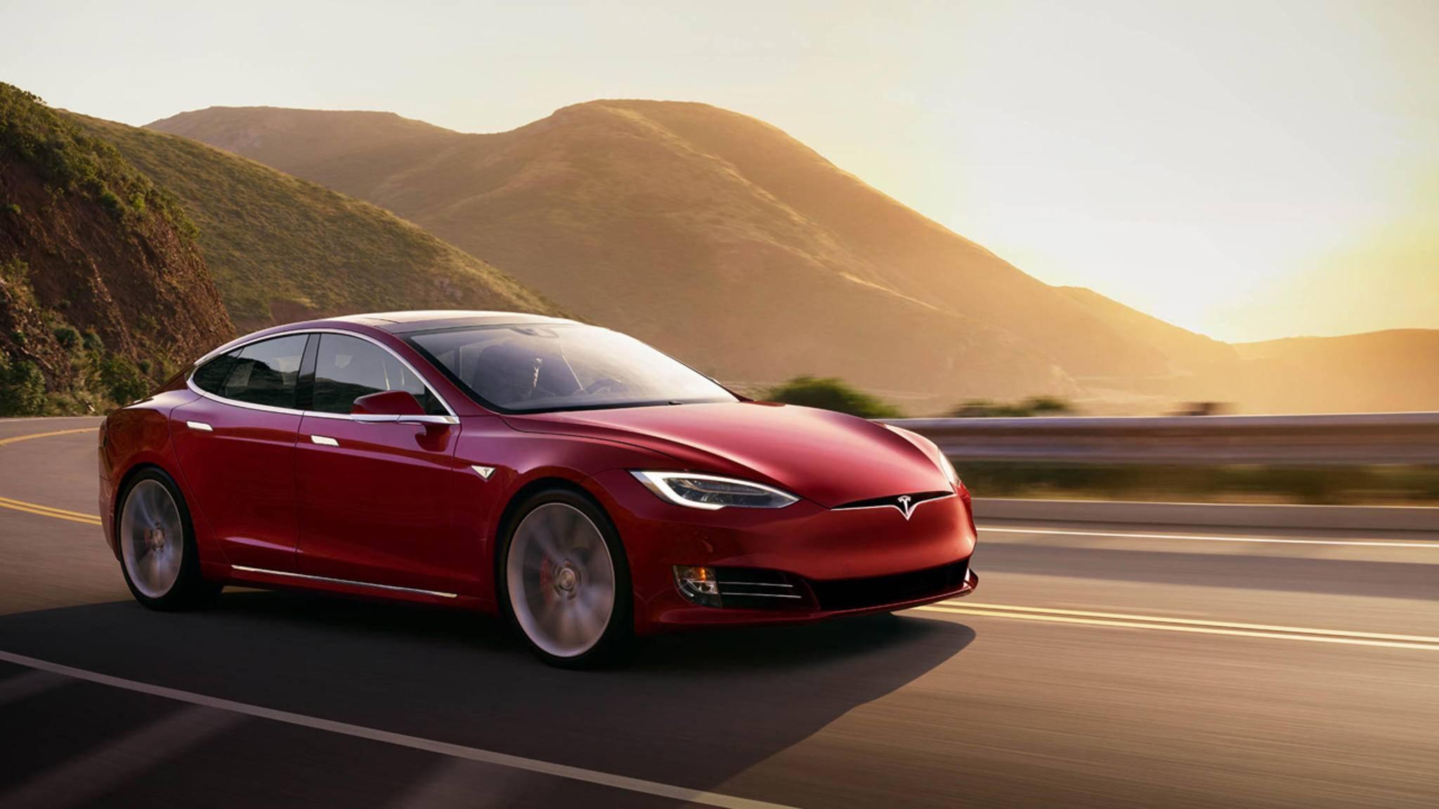 Für viele der Inbegriff eines Luxus-E-Autos: der Tesla Model S.