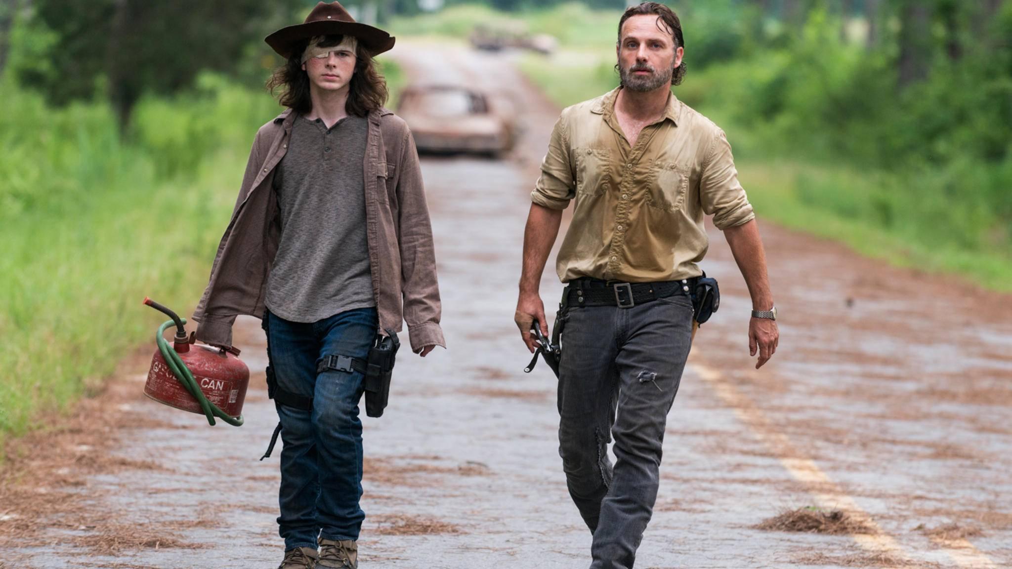 """Carl wird in """"The Walking Dead"""" noch lange seine Spuren hinterlassen."""