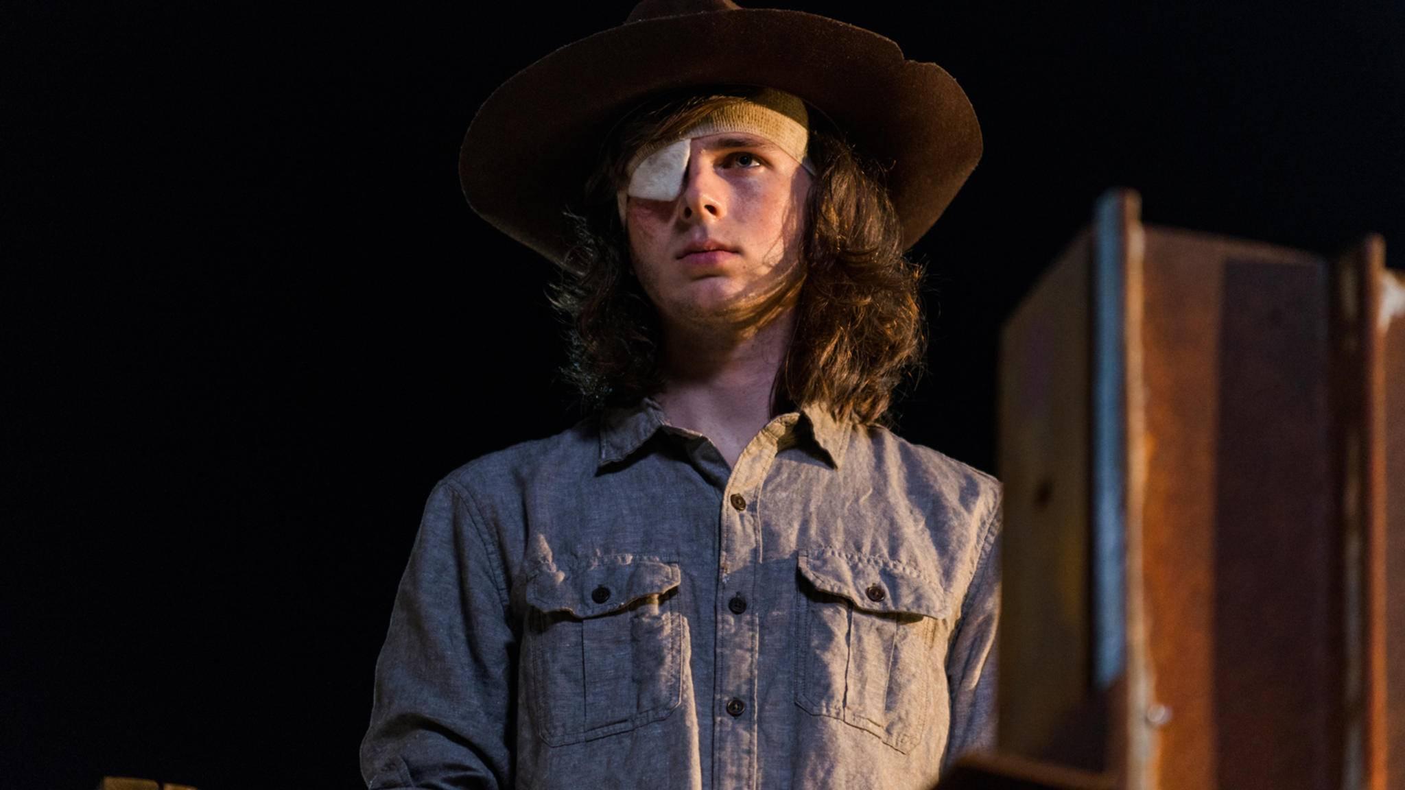 Carl wird für Staffel 8 auch nach seinem Tod wichtig bleiben.
