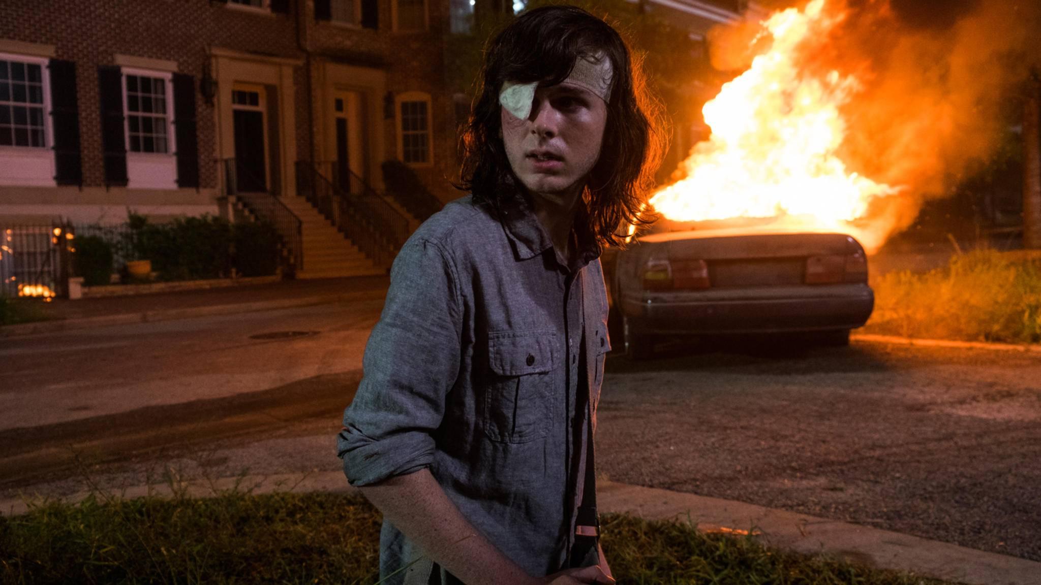 """In Episode 8 der achten """"The Walking Dead""""-Staffel kracht es ordentlich."""
