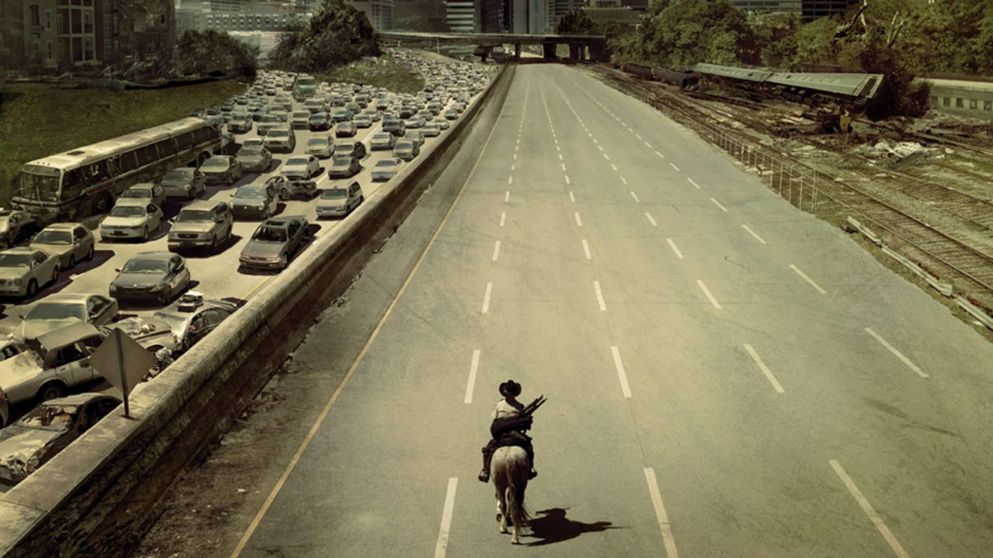 """Staffel 9 von """"The Walking Dead"""" ist nicht mehr fern – und hat sogar ein neues Logo im Gepäck."""
