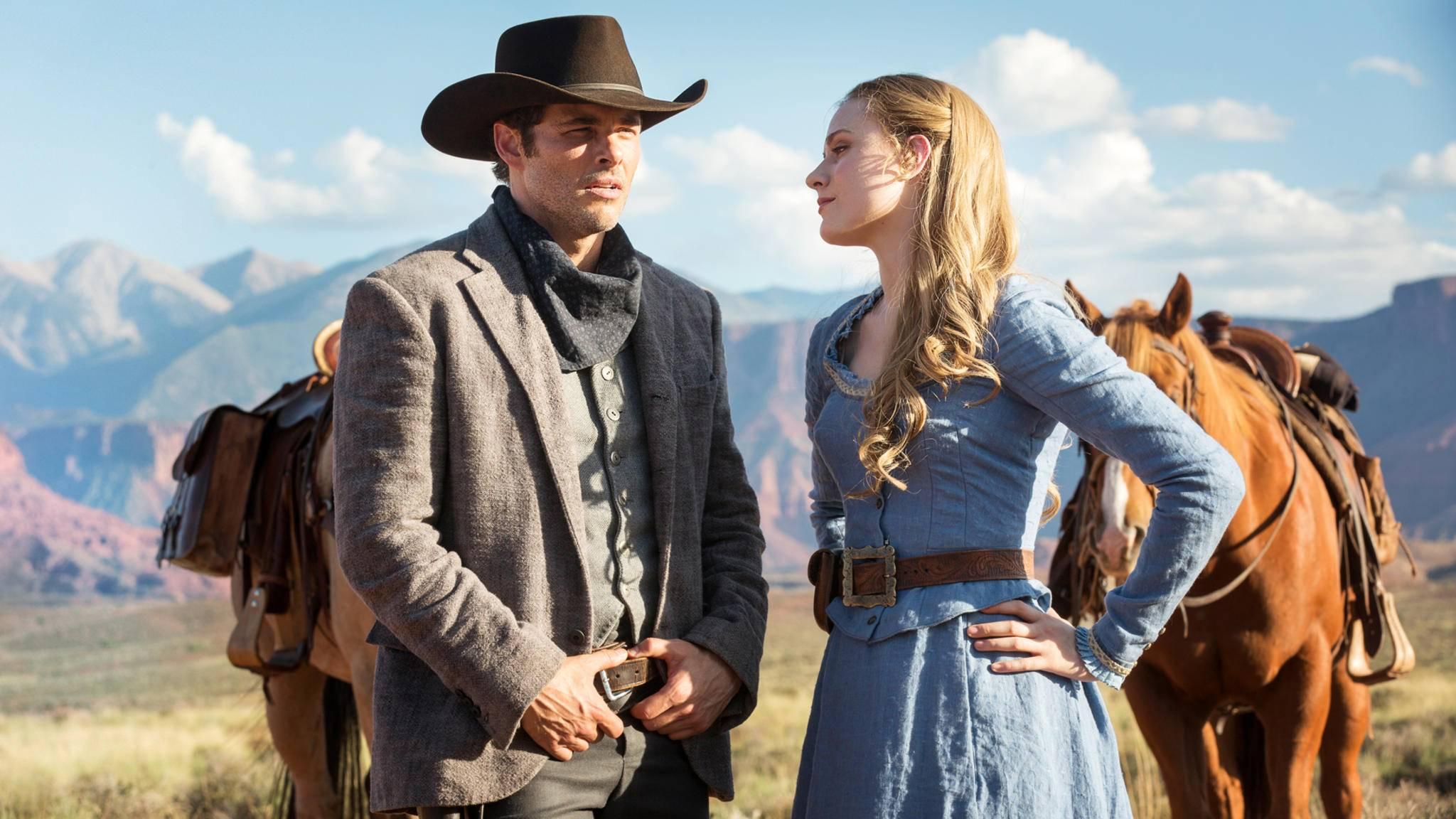 """Die Cowboys bekommen in Staffel 2 von """"Westworld"""" Gesellschaft von Samurais."""
