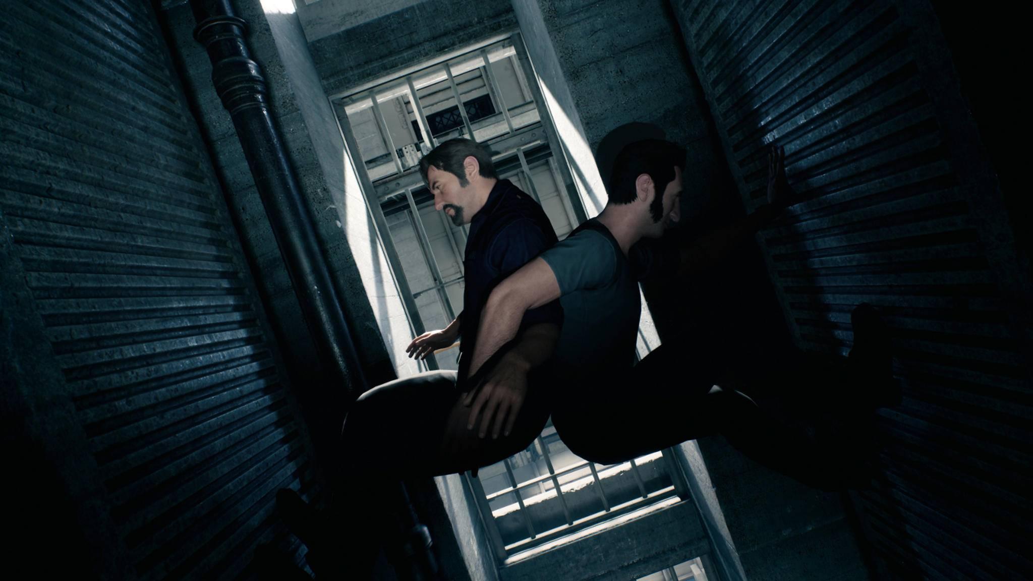 """Leo und Vincent gehen in """"A Way Out"""" durch dick und dünn – bis zum dramatischen Finale, das auf zwei verschiedene Arten gespielt werden kann."""