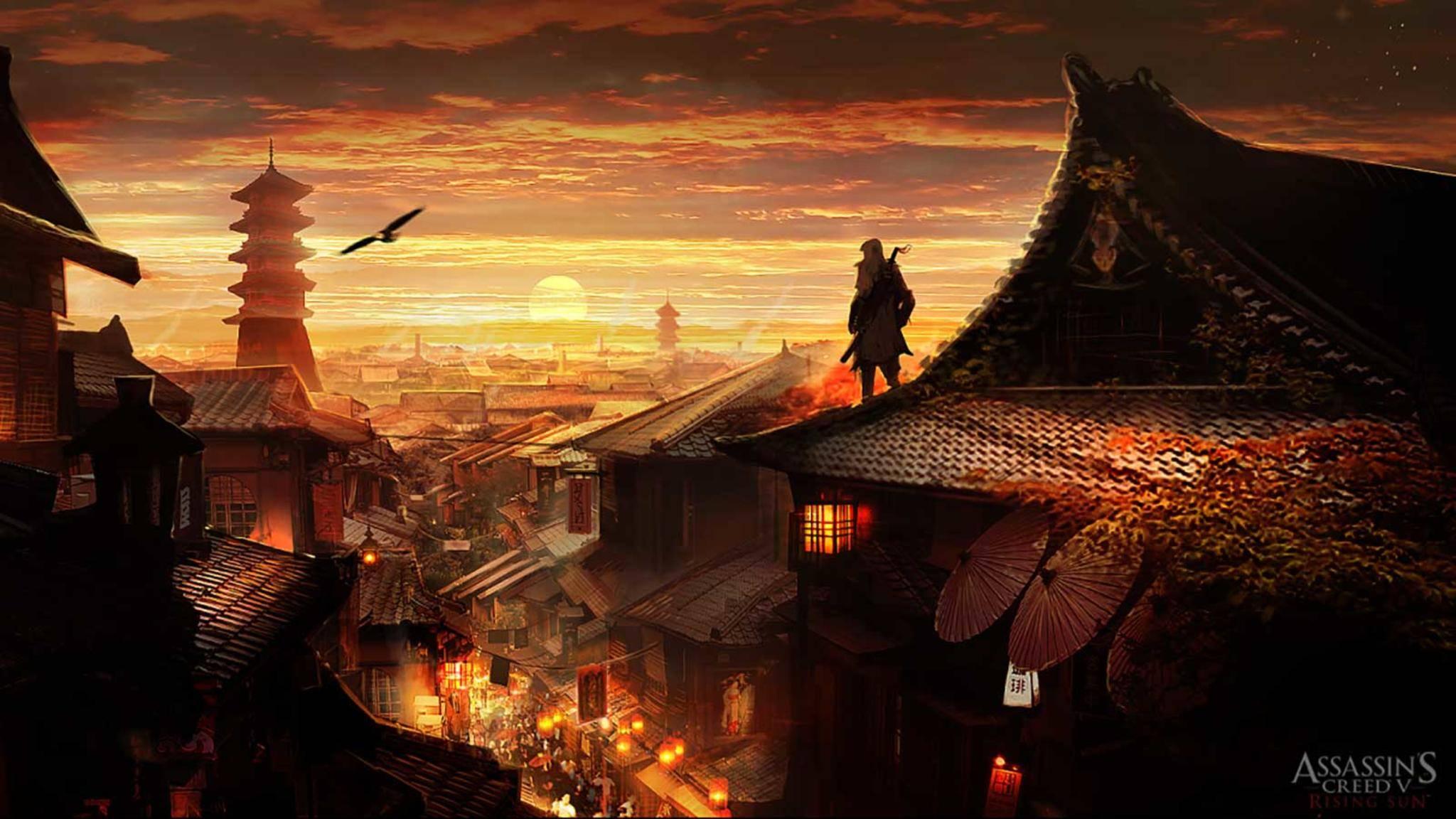 Ein Bild aus einem alten Asien-Gerücht über Assassin's Creed – das aber falsch und konstruiert war.