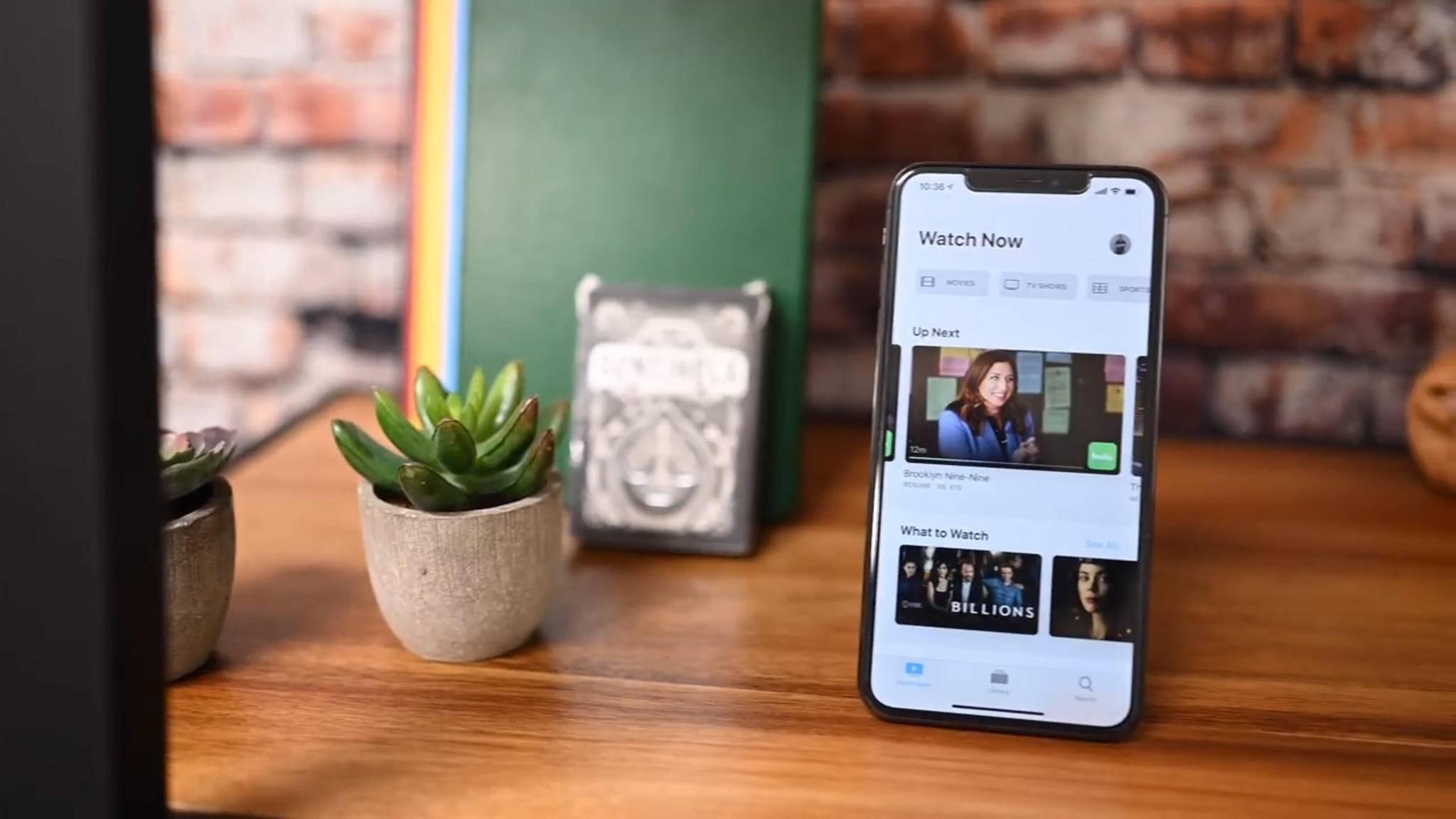 Apple hat die TV-App mit iOS 12.3 runderneuert.