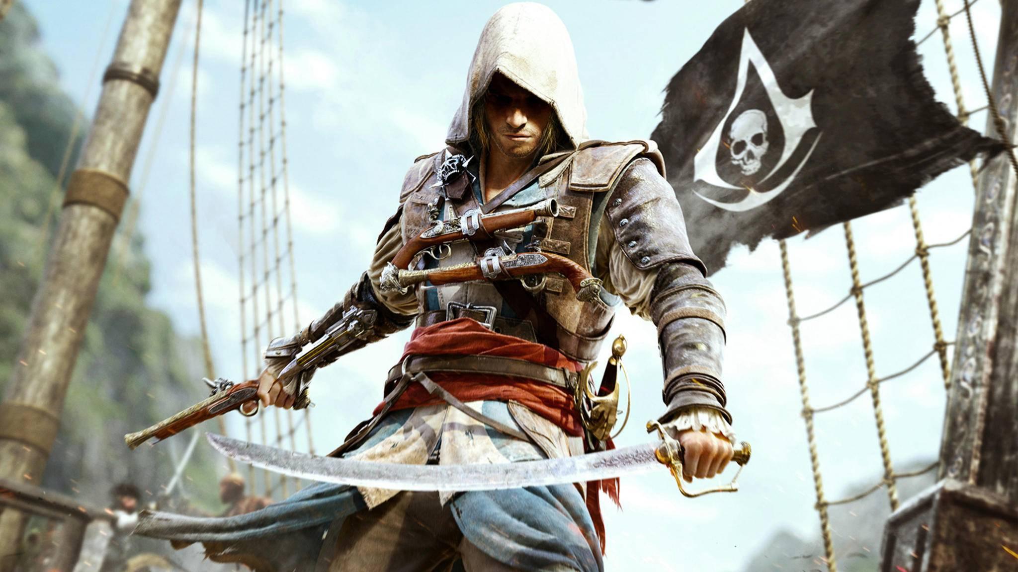 """Bald kann """"Assassin's Creed 4: Black Flag"""" kostenlos herunterladen werden."""