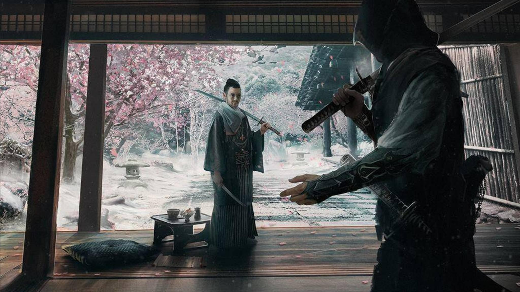 """So könnte ein """"Assassin's Creed"""" in Japan aussehen."""