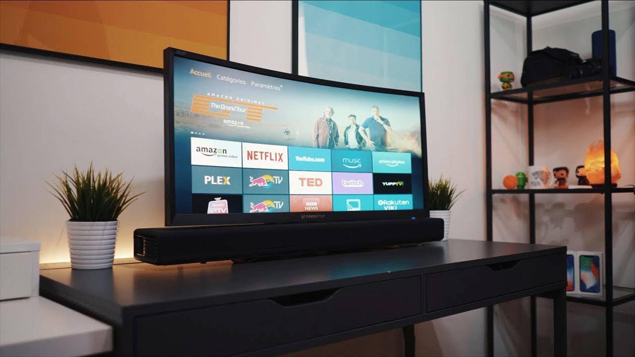 Der Fire TV von Amazon macht den Fernseher smart.