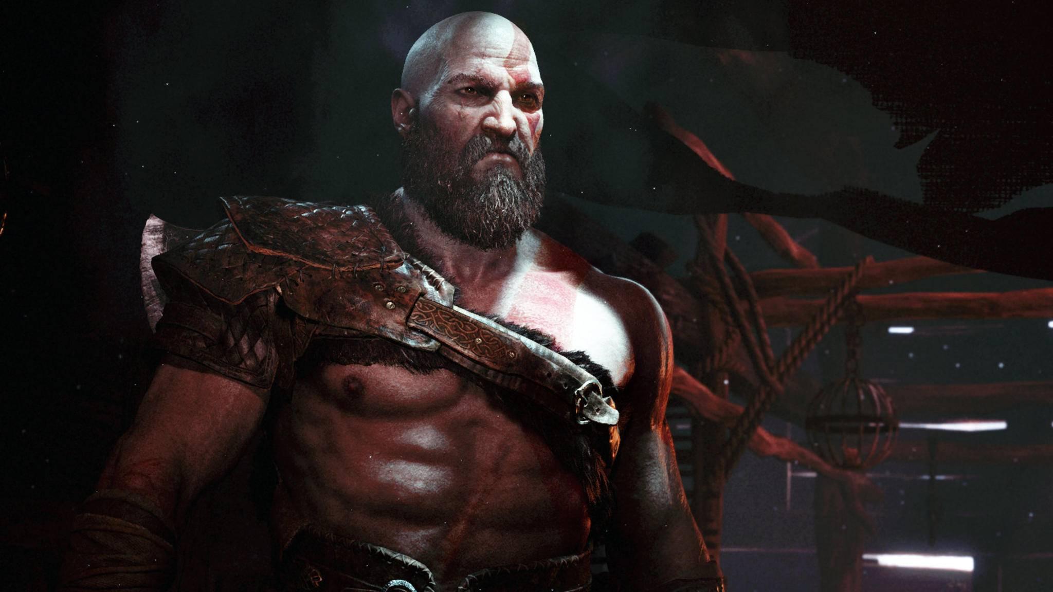 """""""God of War""""-Kratos ist berüchtigt für seine schlechte Laune – und seine PlayStation-Exklusivität."""