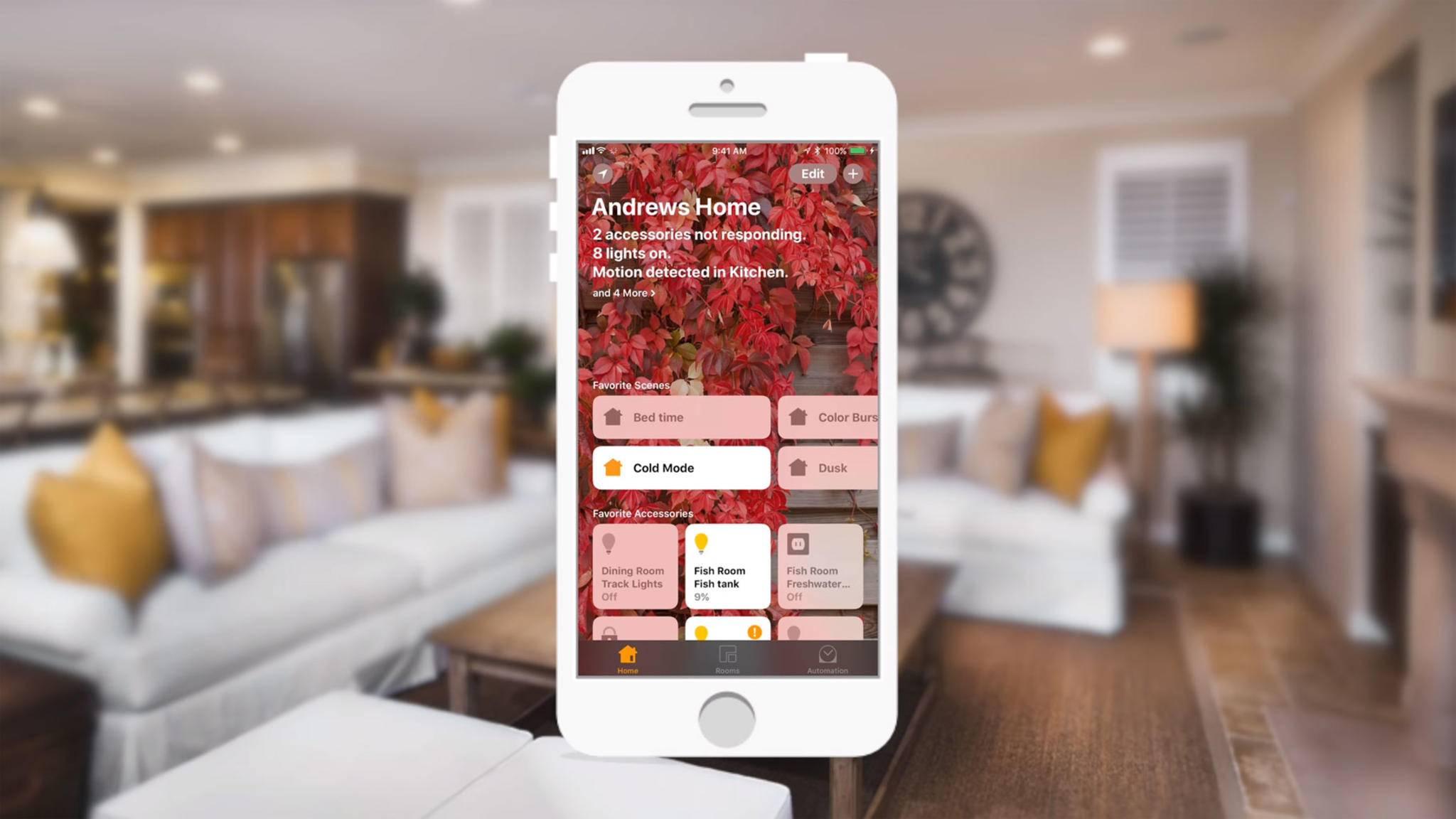 Durch eine Sicherheitslücke in iOS 11.2 konnten Angreifer auf in HomeKit integrierte Geräte zugreifen.